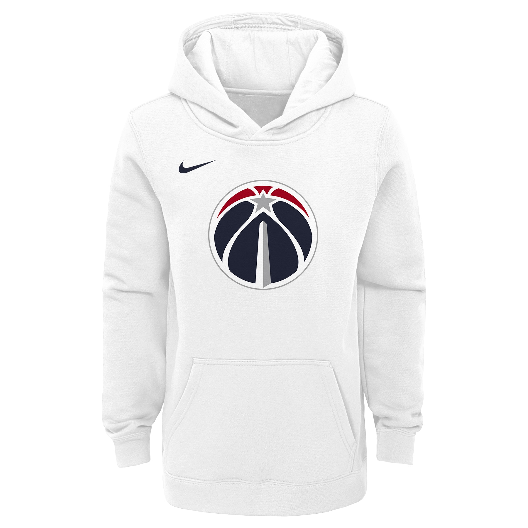 Washington Wizards Nike Youth 2019/20 City Edition Club Pullover Hoodie - White