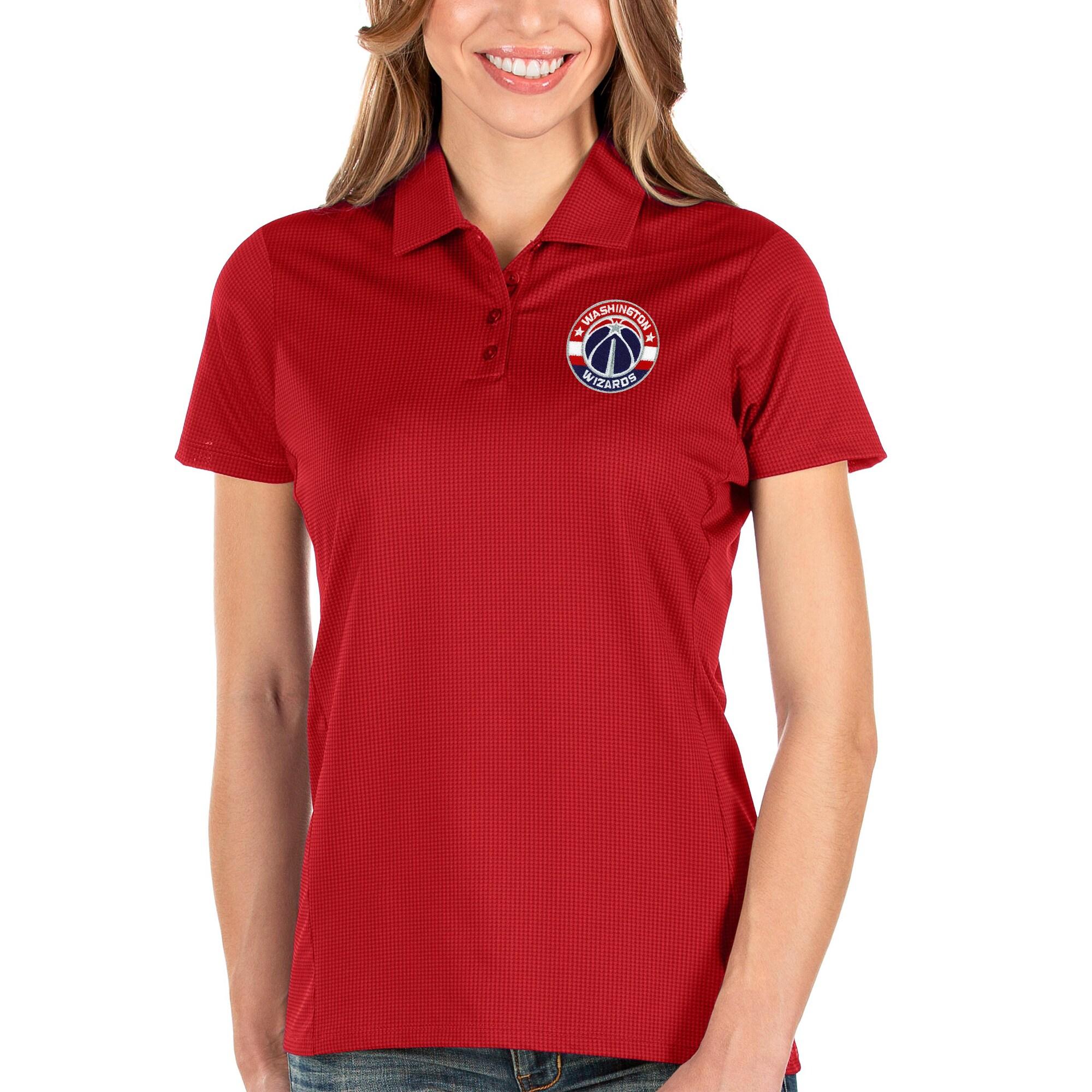 Washington Wizards Antigua Women's Balance Polo - Red