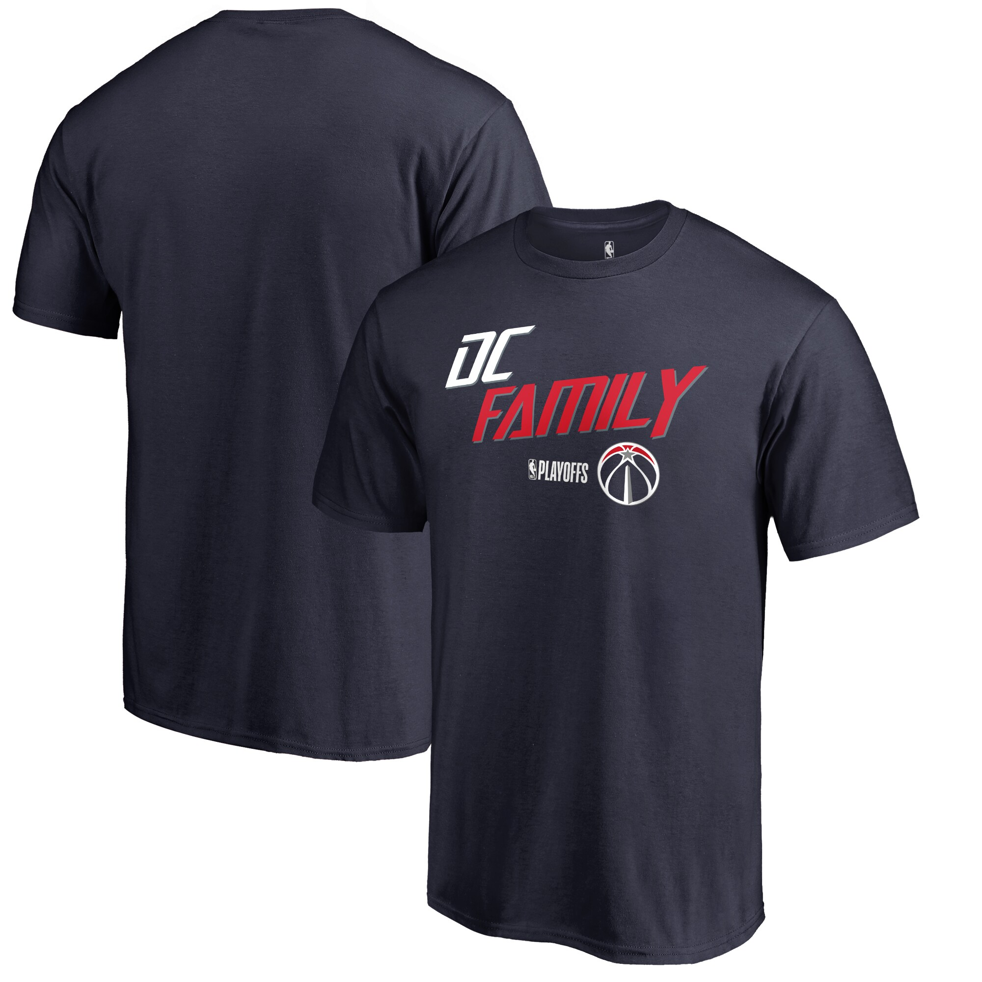 Washington Wizards Fanatics Branded 2018 NBA Playoffs Slogan Big & Tall T-Shirt - Navy