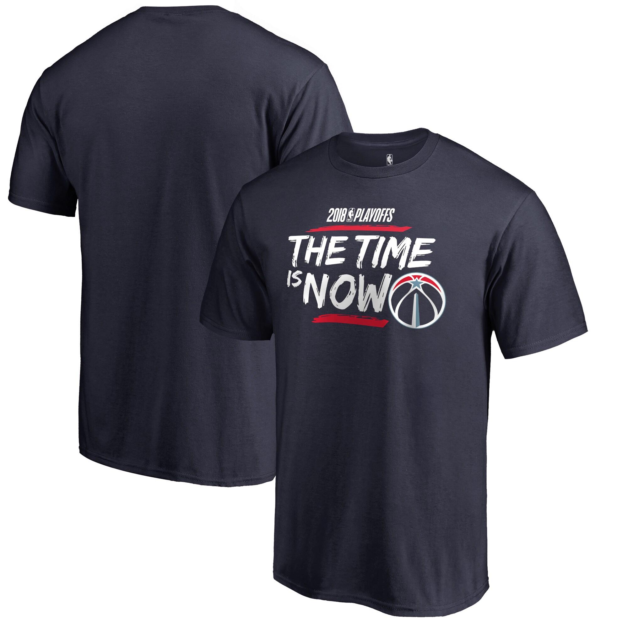 Washington Wizards Fanatics Branded 2018 NBA Playoffs Bet Slogan Big & Tall T-Shirt - Navy