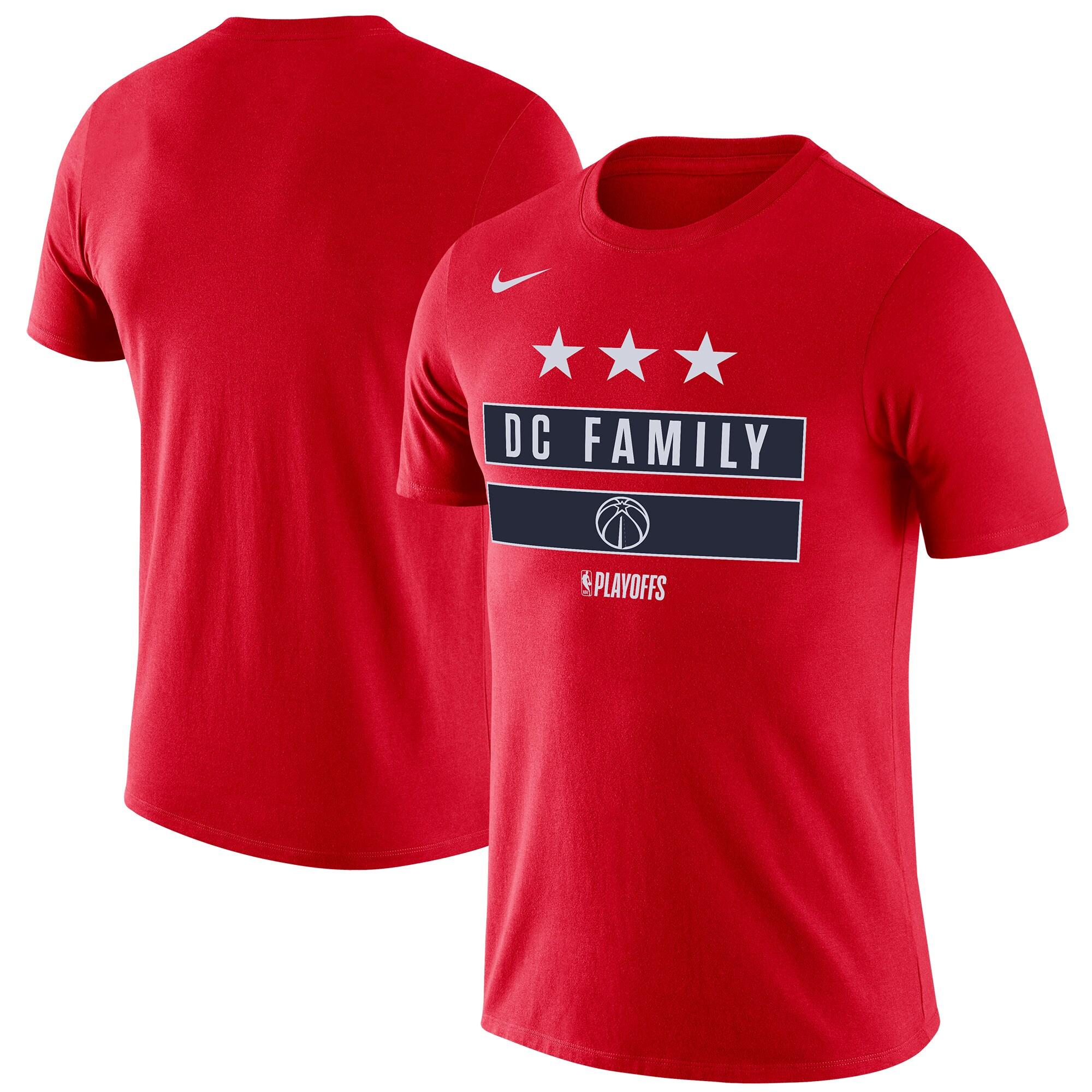 Washington Wizards Nike NBA Playoffs Mantra Legend T-Shirt - Red