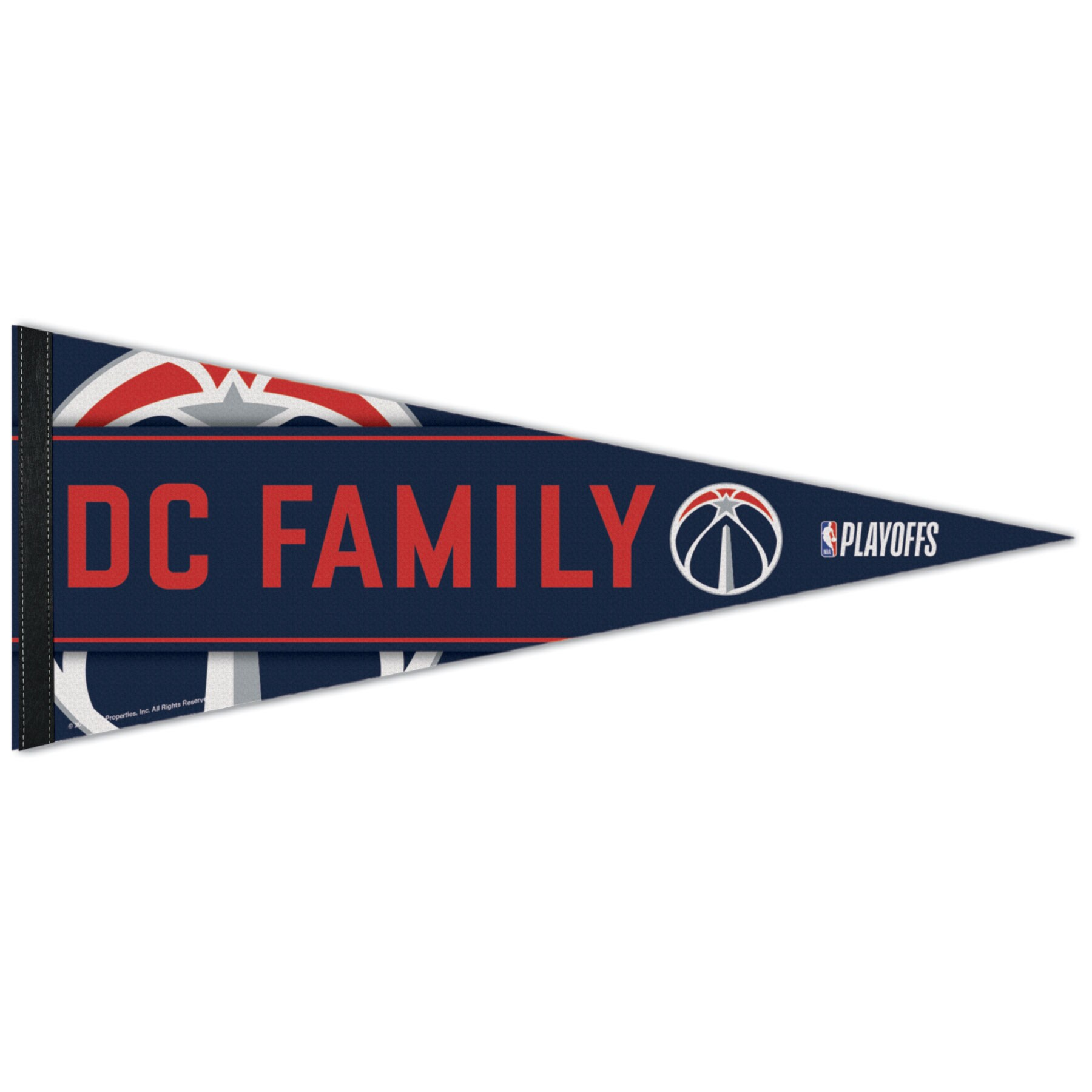 "Washington Wizards WinCraft 2018 NBA Playoffs Slogan 12"" x 30"" Premium Pennant"