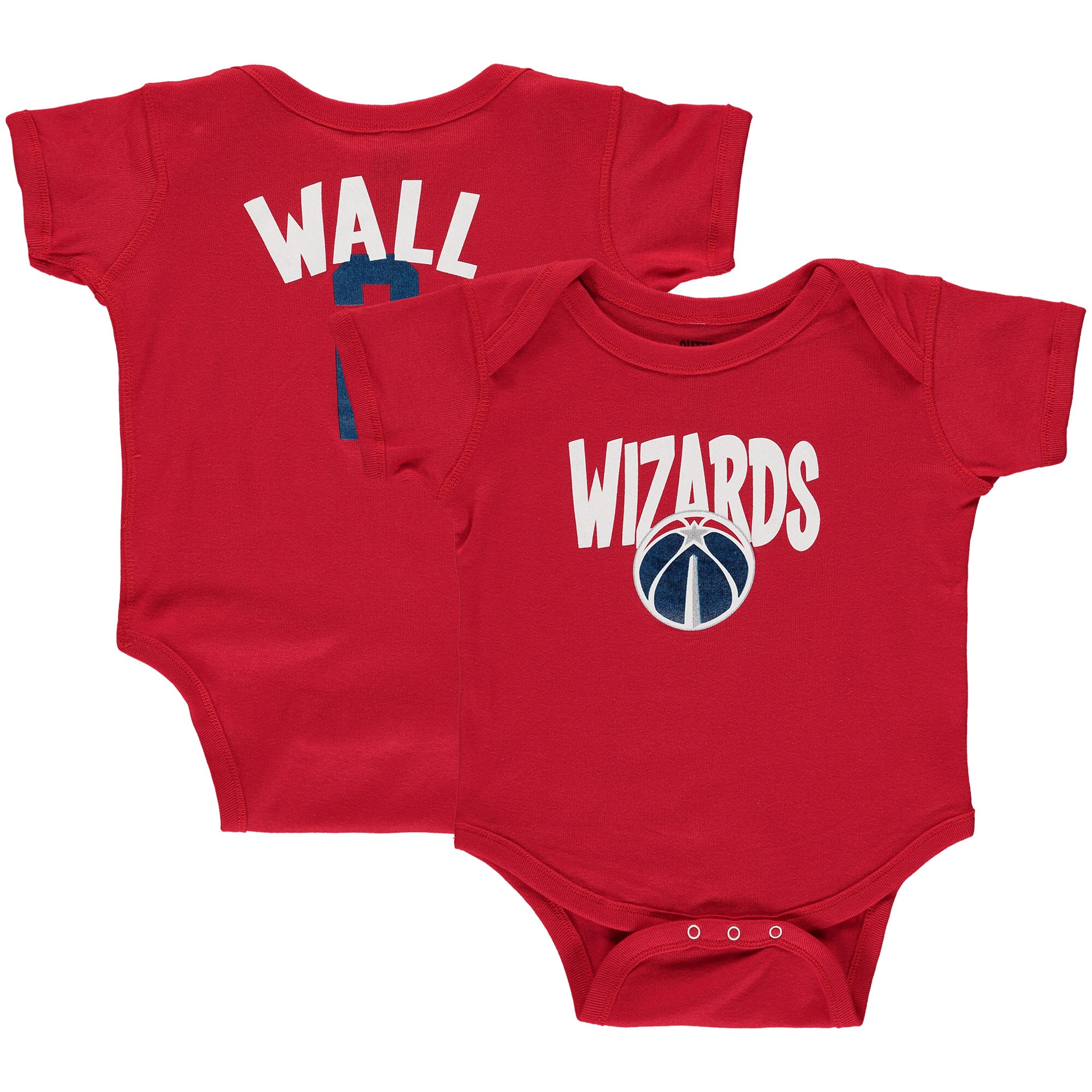John Wall Washington Wizards Infant Name & Number Creeper - Red