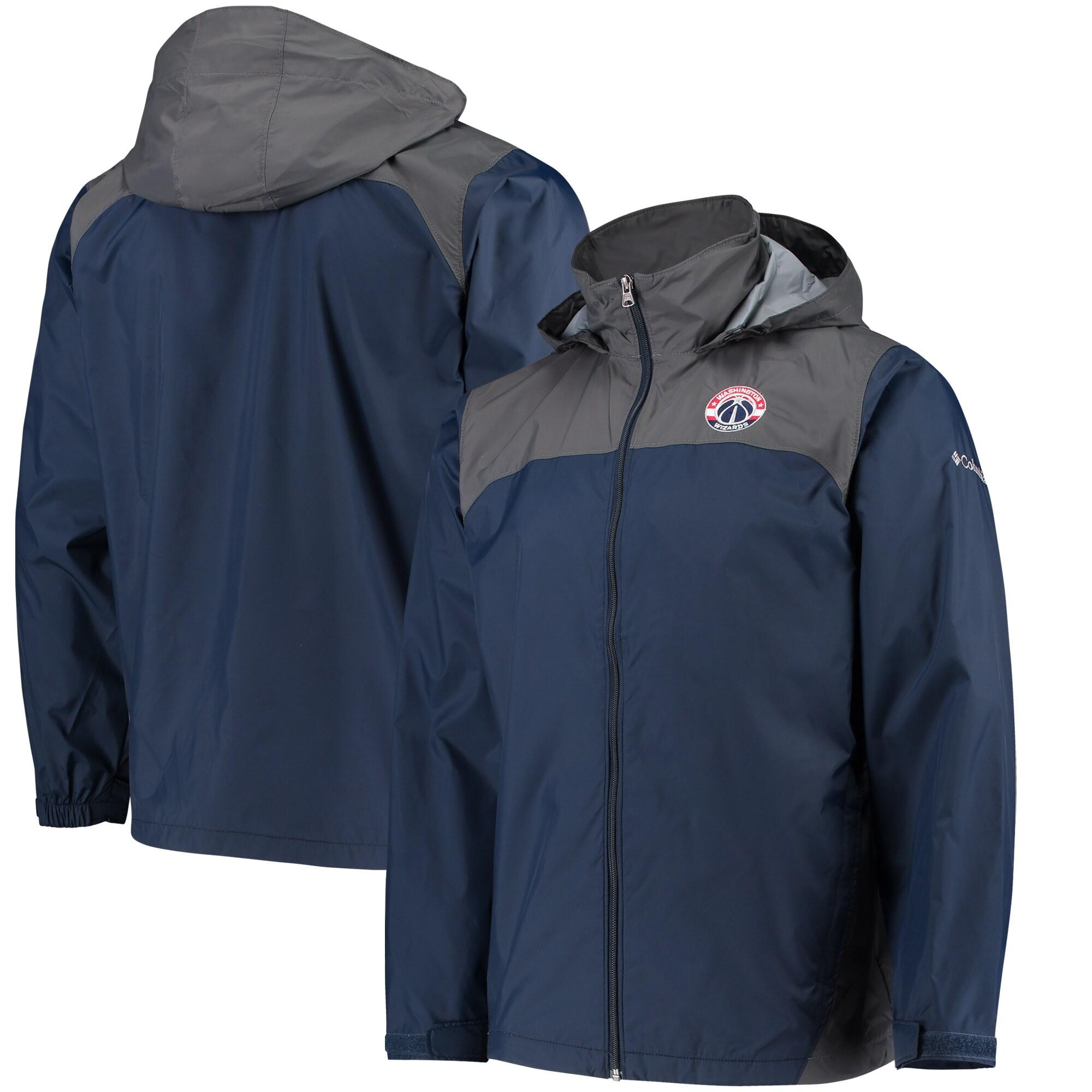 Washington Wizards Columbia Glennaker Lake Full-Zip Jacket - Navy