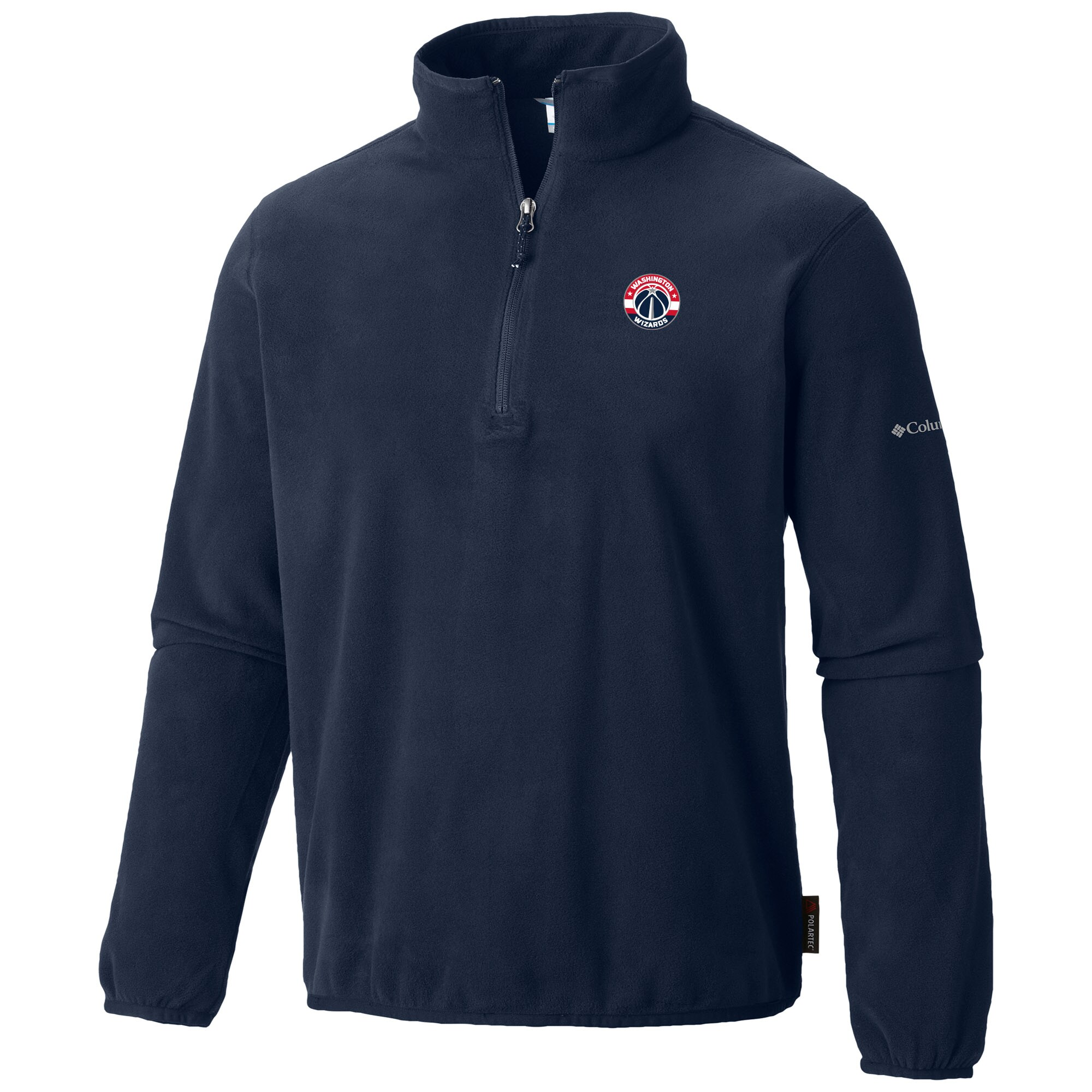 Washington Wizards Columbia Ridge Repeat Half-Zip Fleece Jacket - Navy