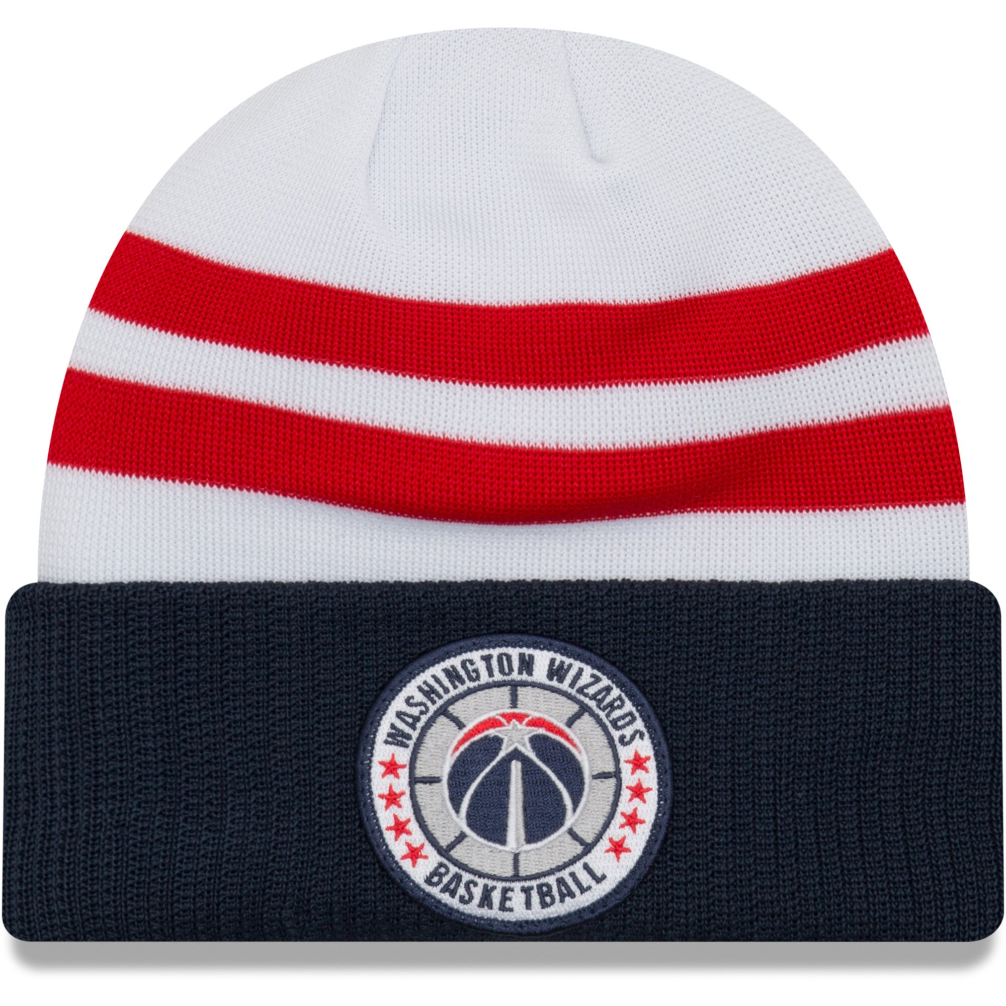 Washington Wizards New Era 2018 Tip Off Series Cuffed Knit Hat - White
