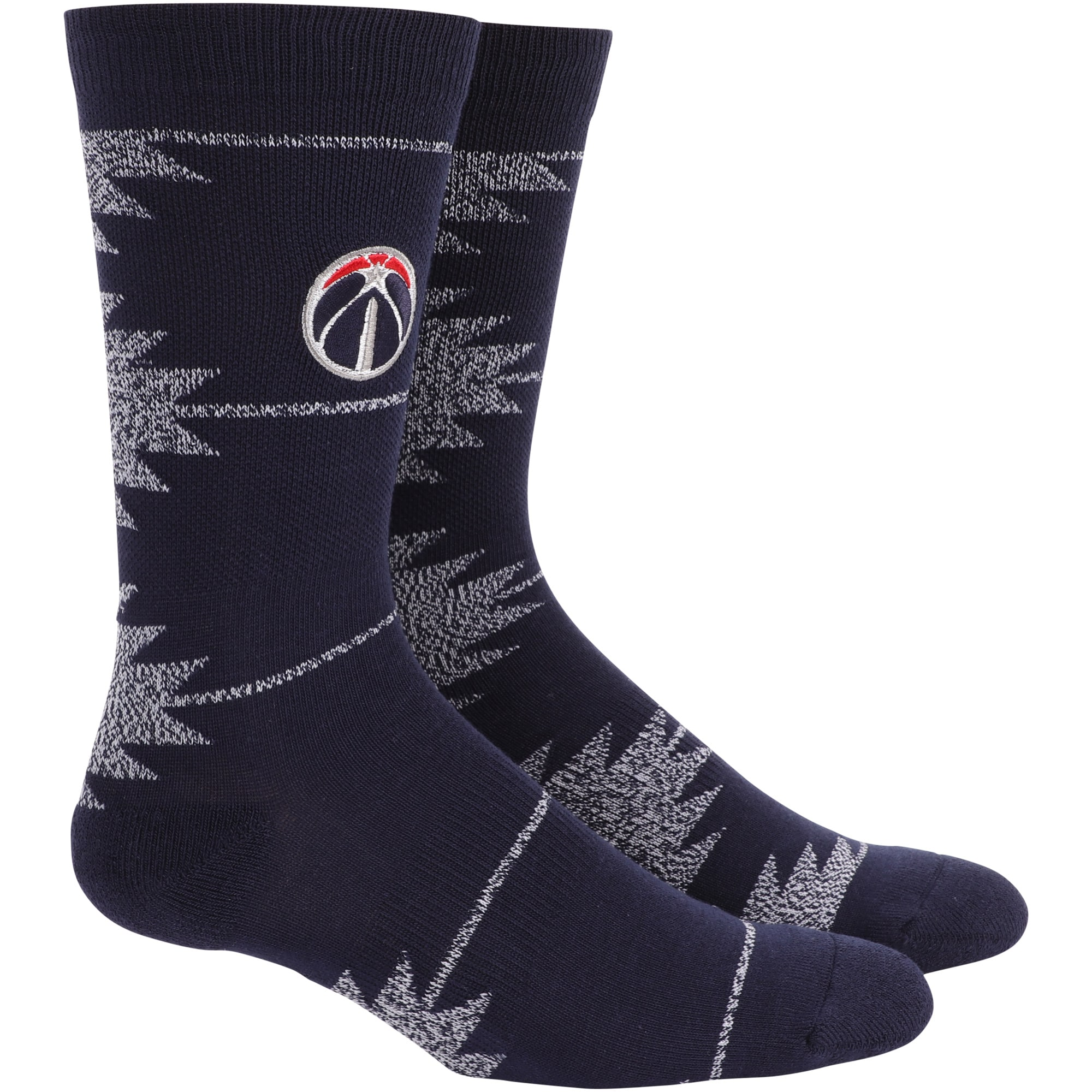 Washington Wizards Geo Crew Socks