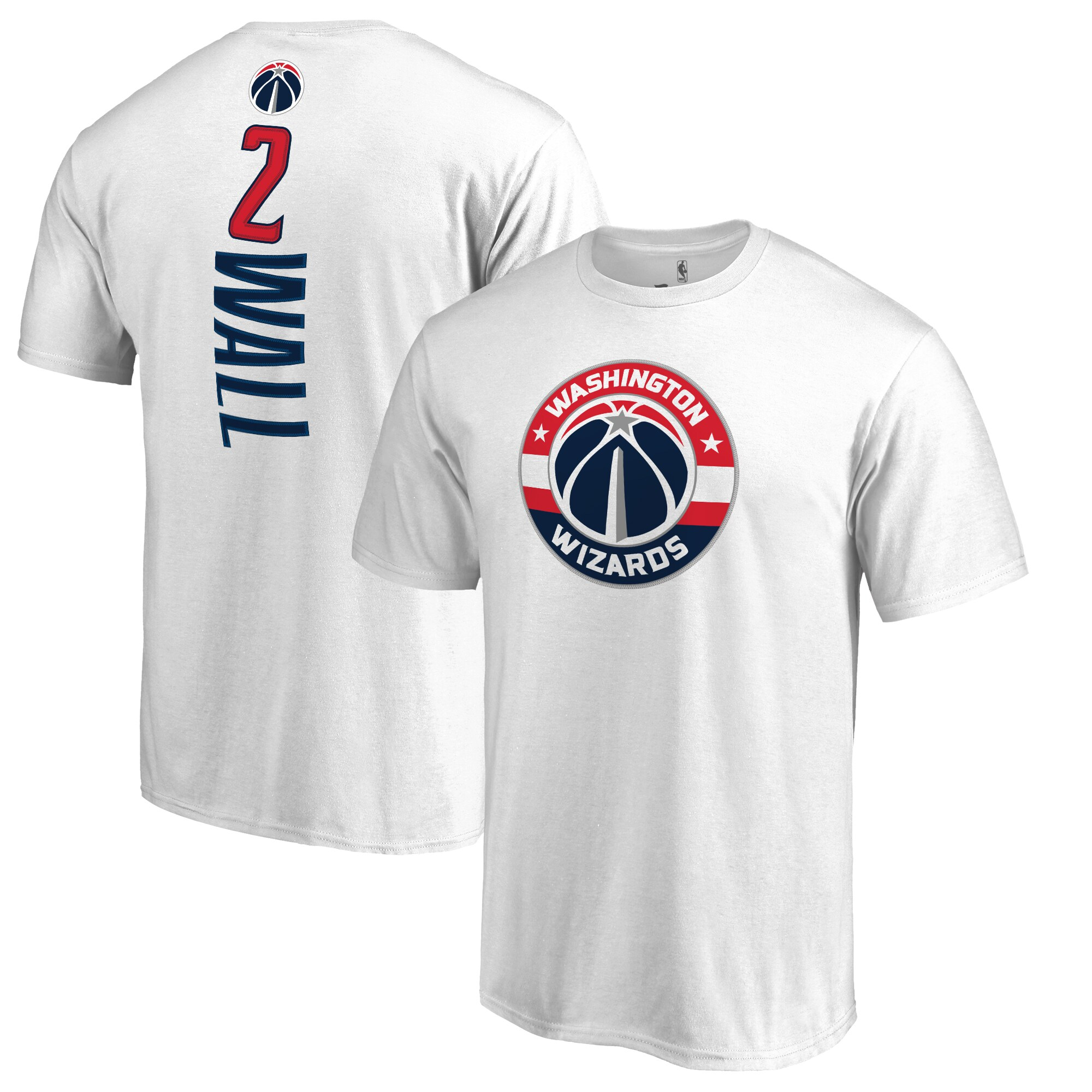 John Wall Washington Wizards Backer T-Shirt - White