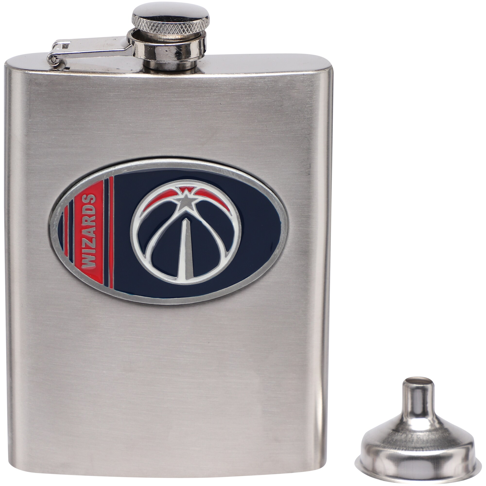 Washington Wizards Team Logo Flask