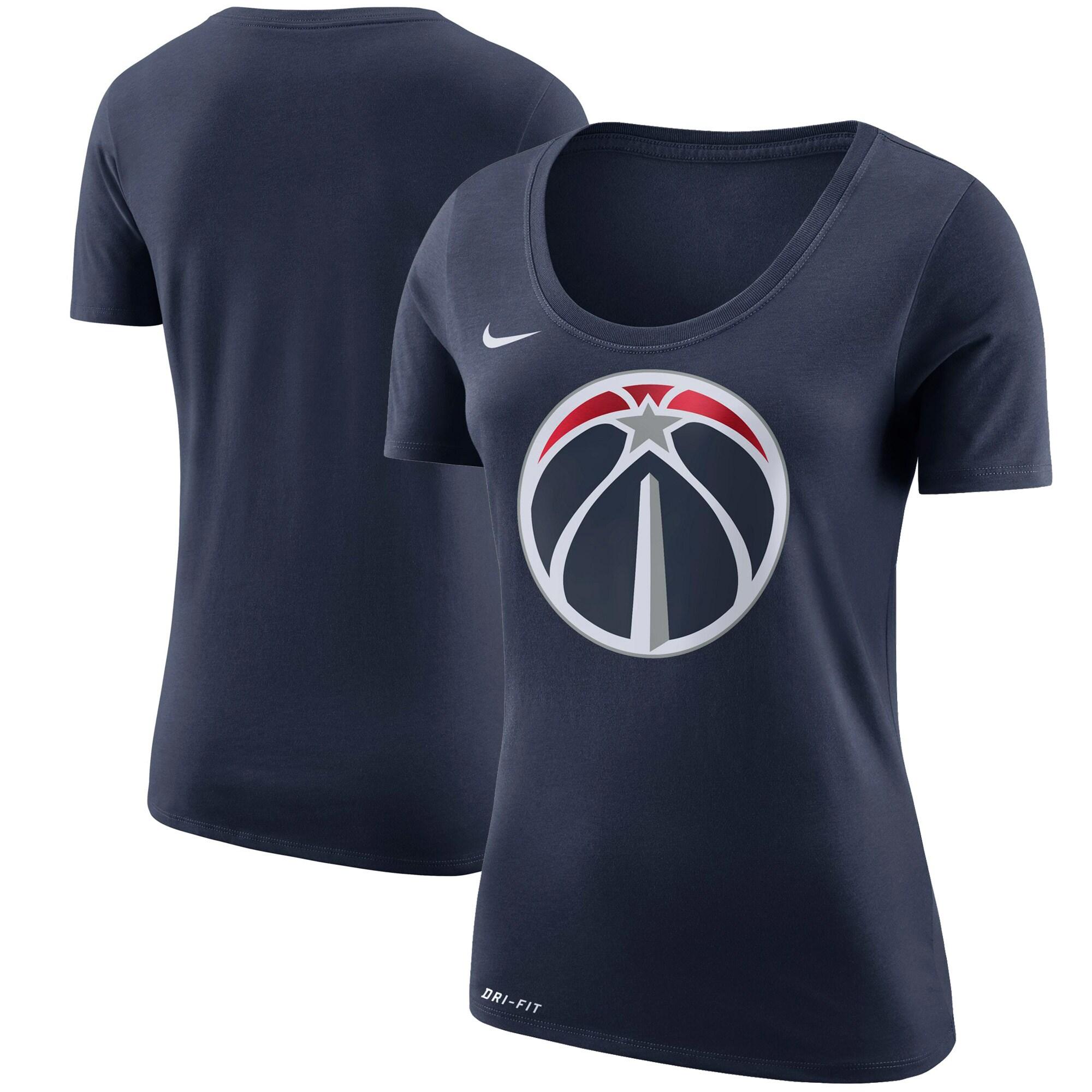 Washington Wizards Nike Women's Primary Logo T-Shirt - Navy