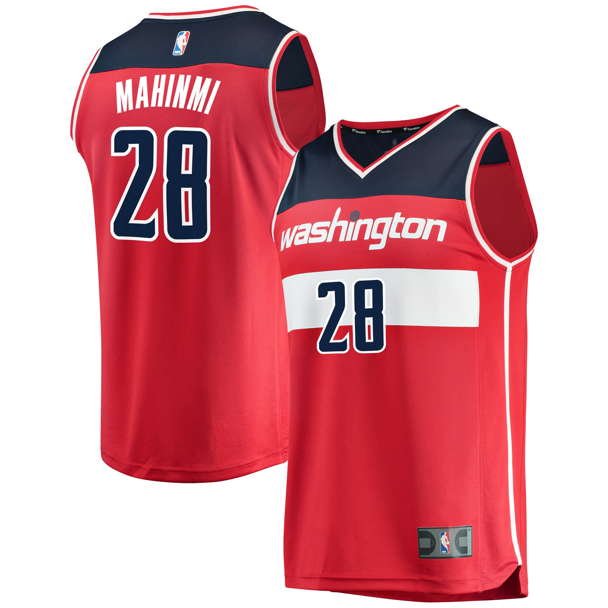 Ian Mahinmi Washington Wizards Fanatics Branded Fast Break Replica Team Color Player Jersey Red - Icon Edition