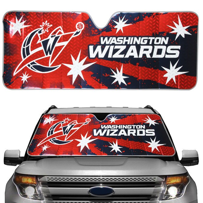 Washington Wizards Auto Sun Shade