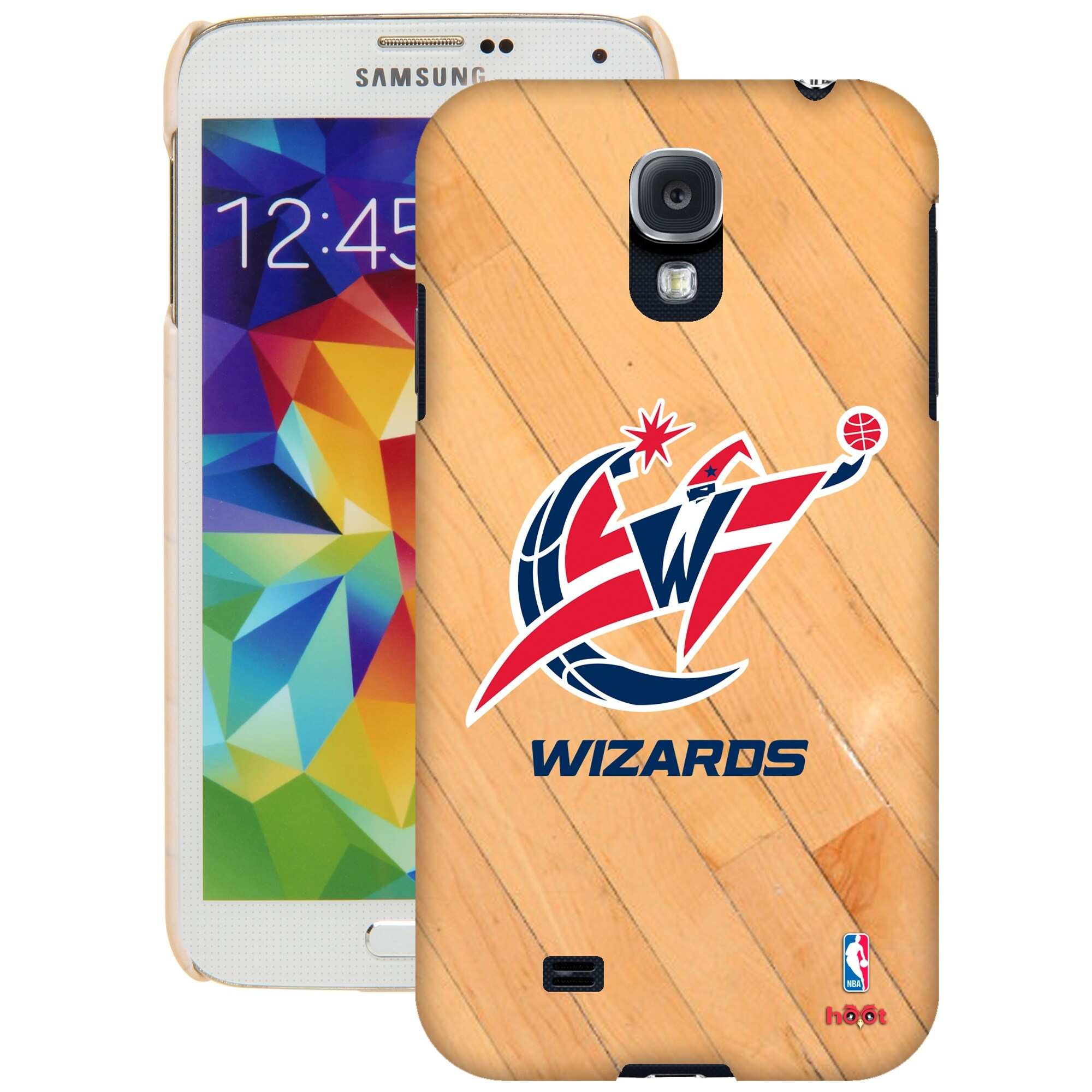 Washington Wizards Galaxy S5 Hardwood Court Case