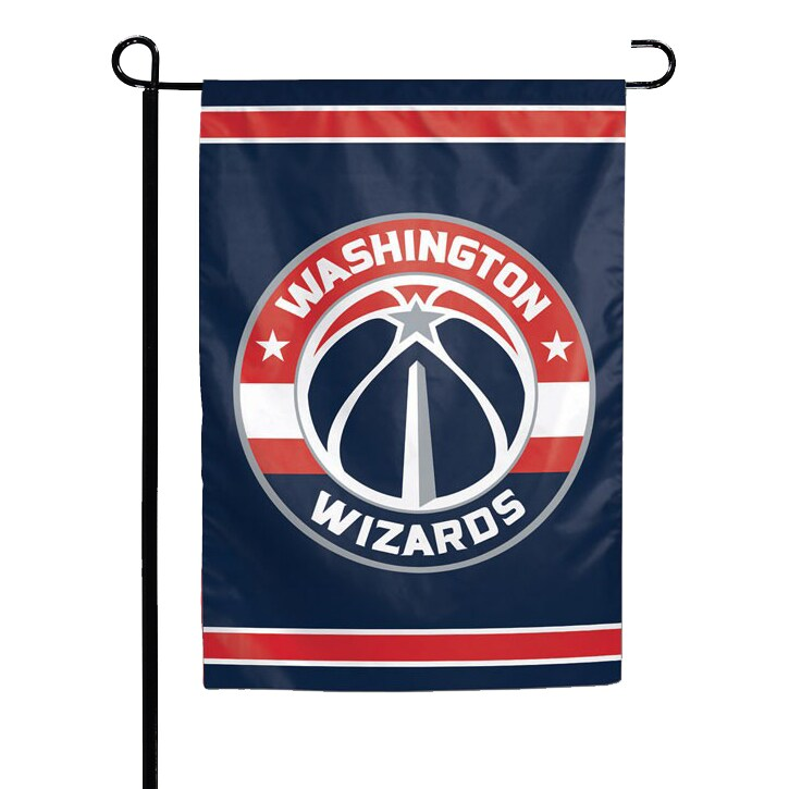"Washington Wizards WinCraft 12"" x 18"" Double-Sided Garden Flag"