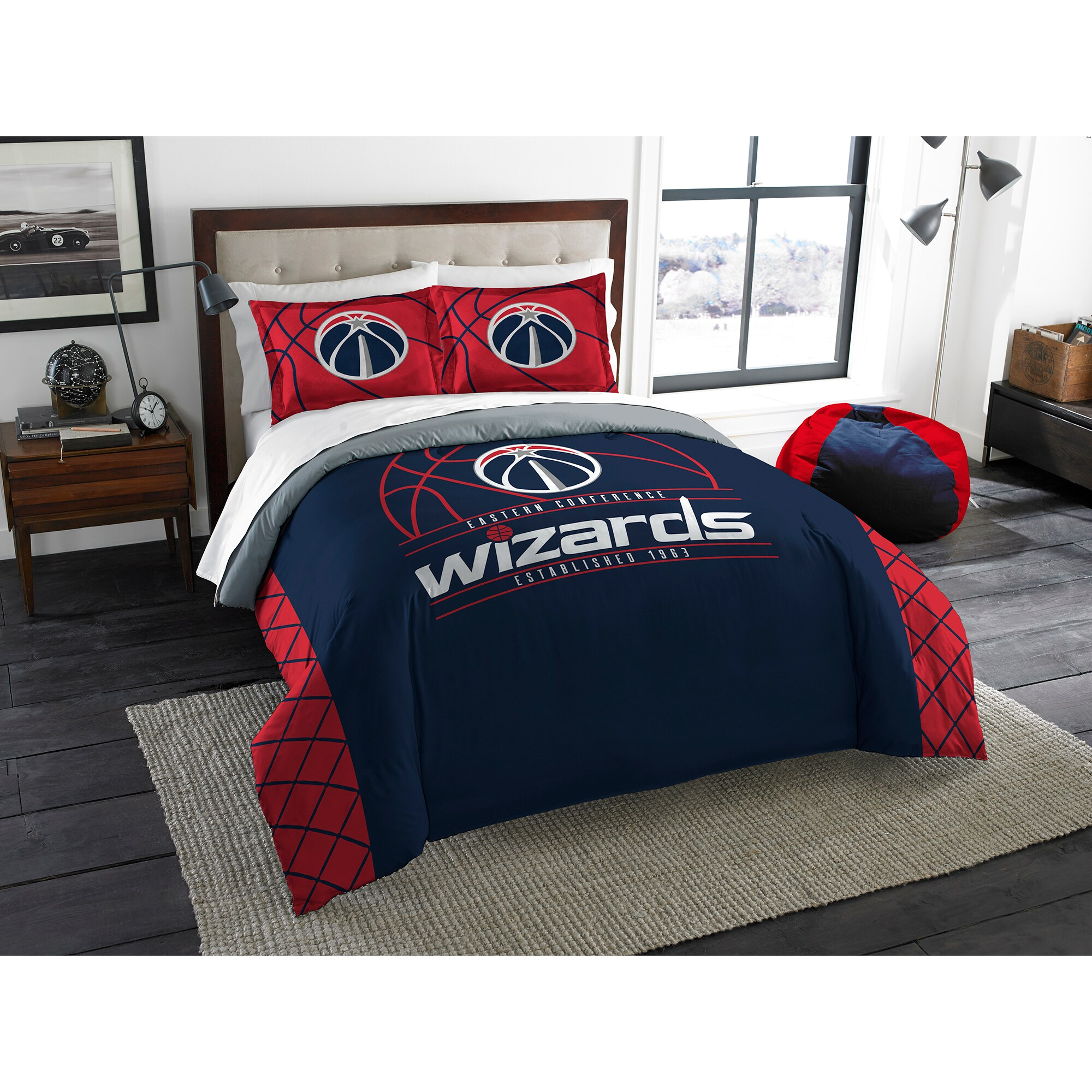 Washington Wizards The Northwest Company Reverse Slam Full/Queen Comforter Set