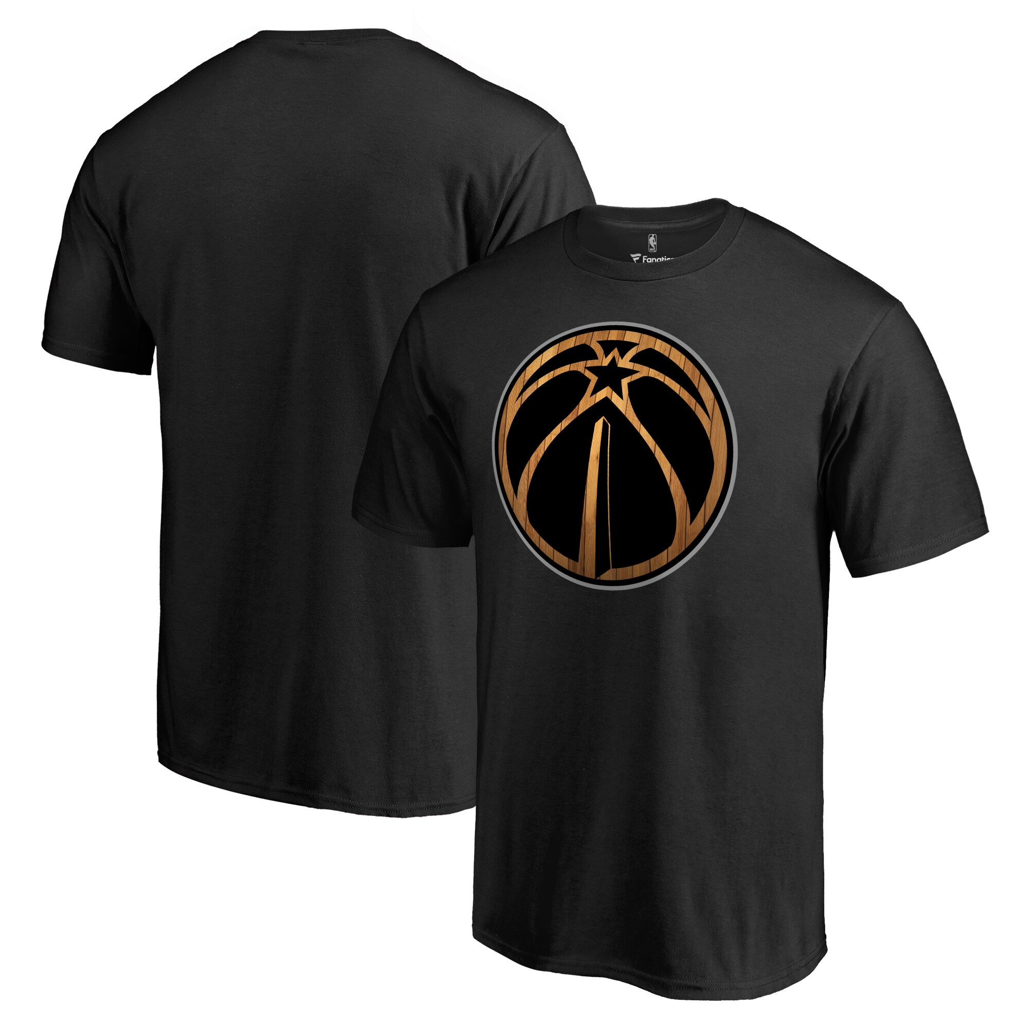 Washington Wizards Hardwood T-Shirt - Black