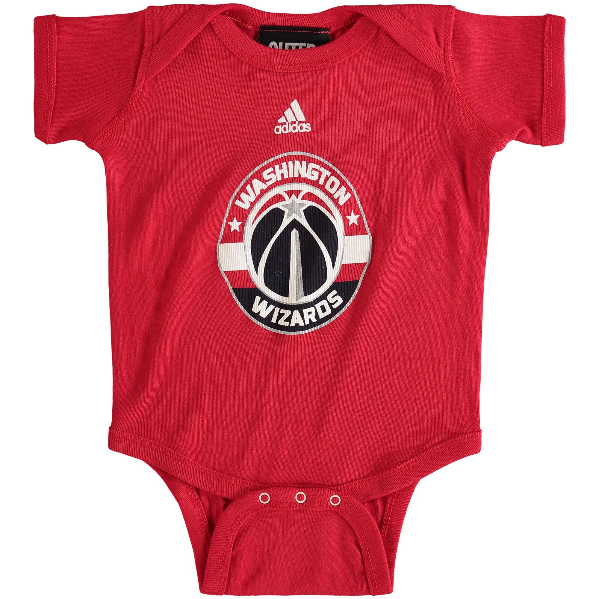 Washington Wizards adidas Newborn Primary Logo Bodysuit - Red -