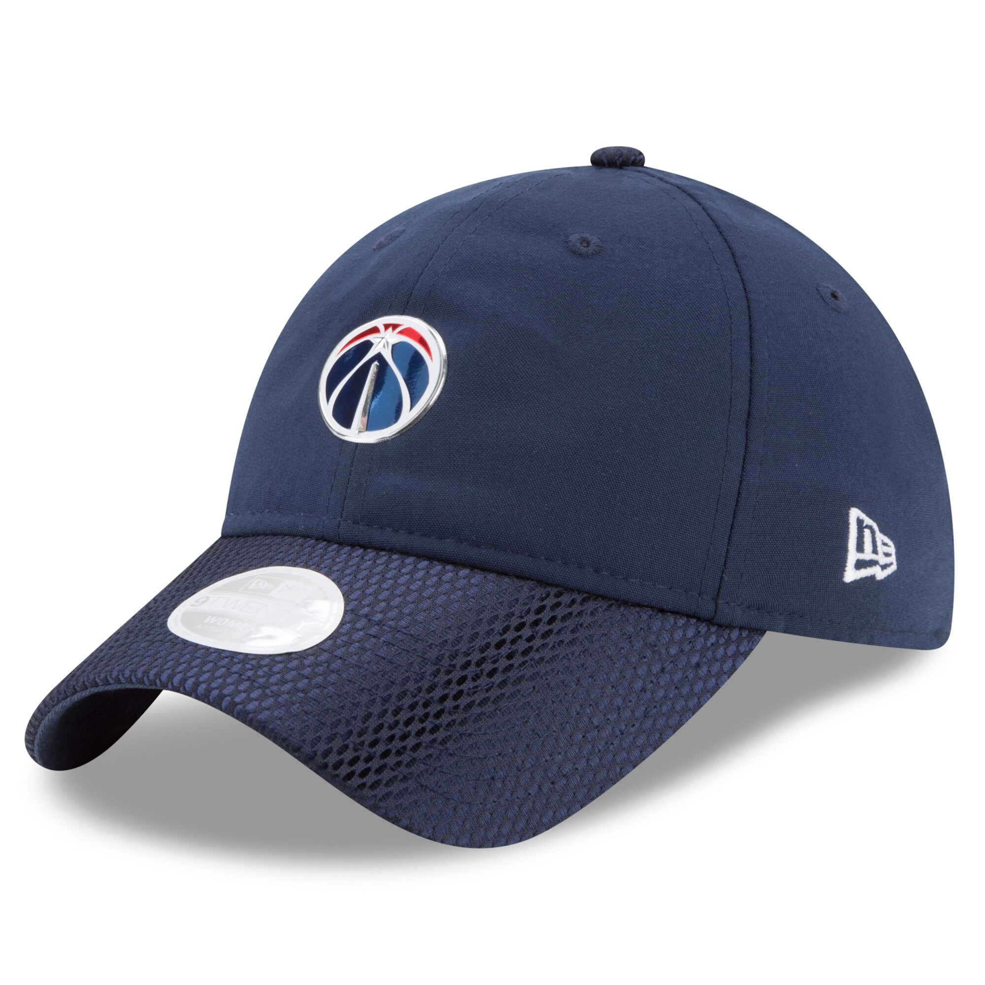 Washington Wizards New Era Women's On-Court 9TWENTY Adjustable Hat - Navy