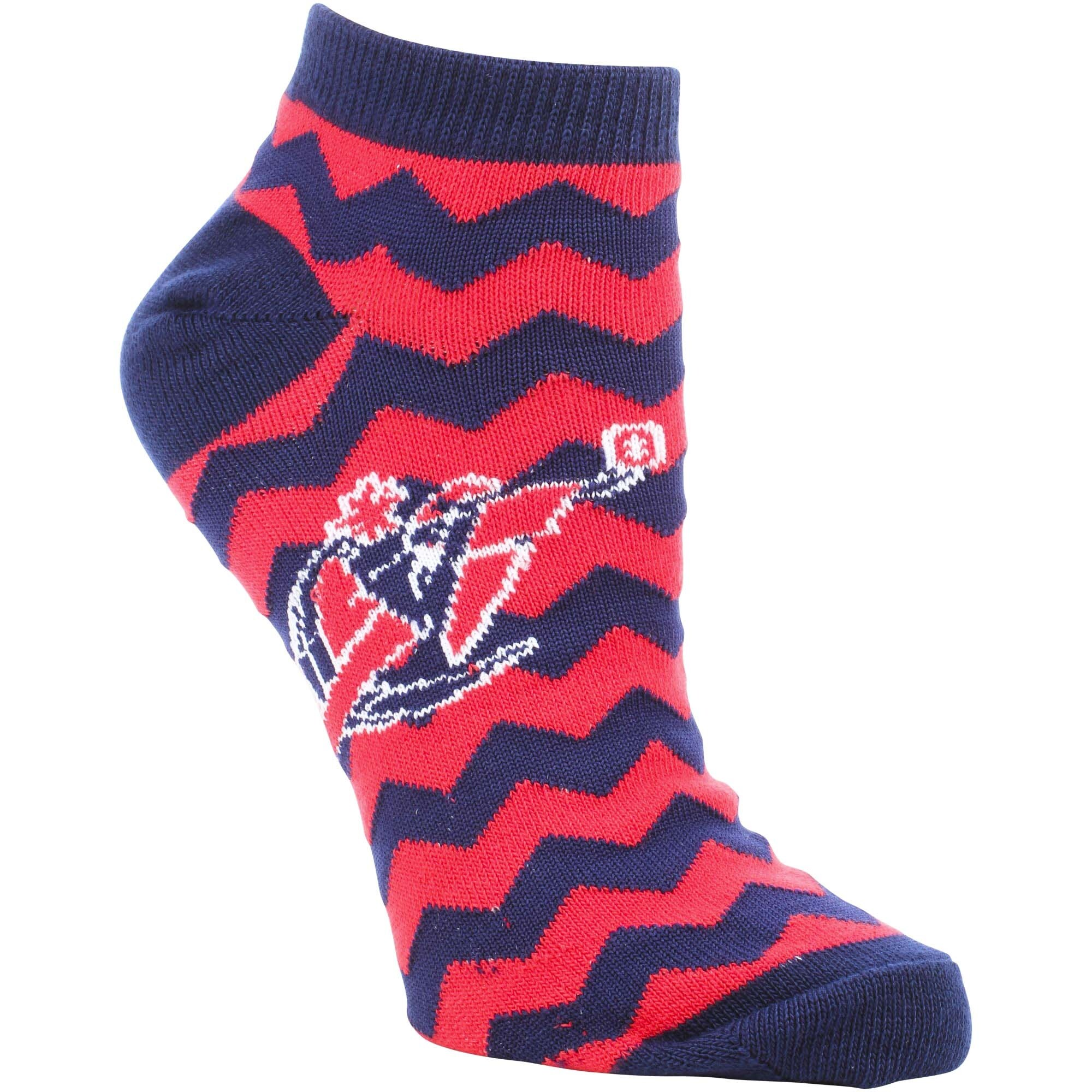 Washington Wizards Women's Chevron Stripes Ankle Socks