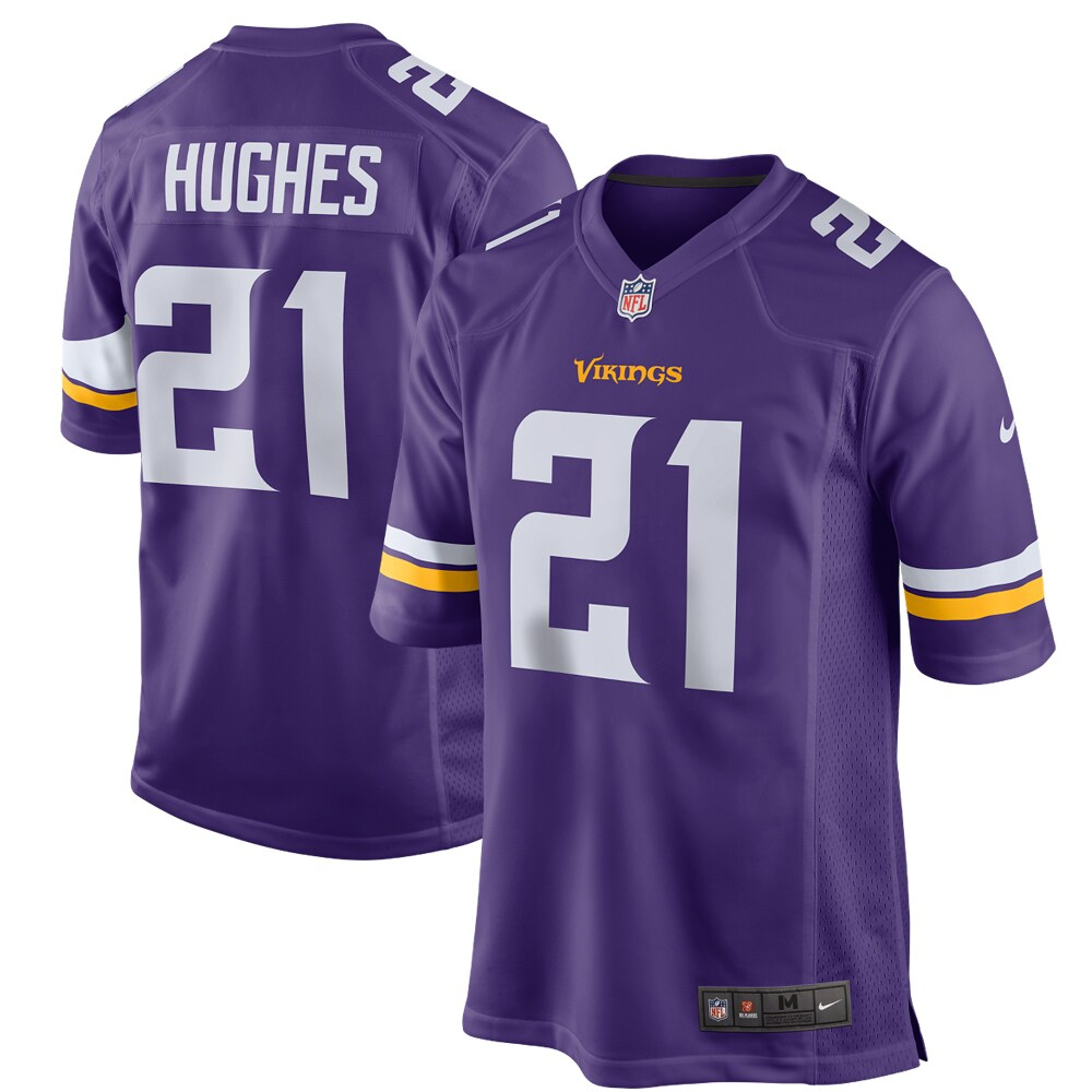 Mike Hughes Minnesota Vikings Nike Game Player Jersey - Purple