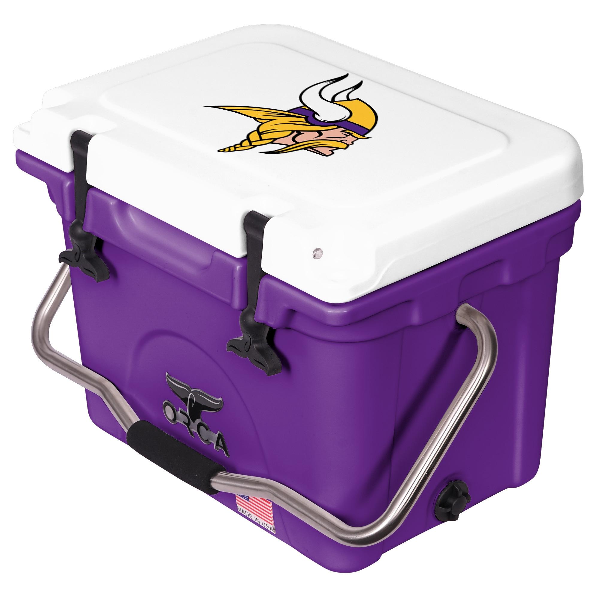 Minnesota Vikings ORCA 20-Quart Hard-Sided Cooler - Purple/White