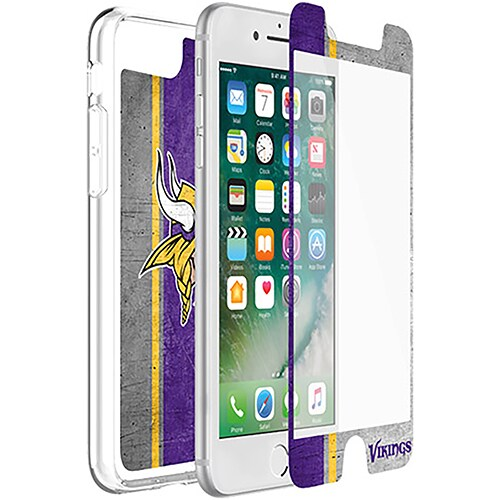 Minnesota Vikings OtterBox iPhone 8 Plus/7 Plus/6 Plus/6s Plus Symmetry Case with Alpha Glass Screen Protector