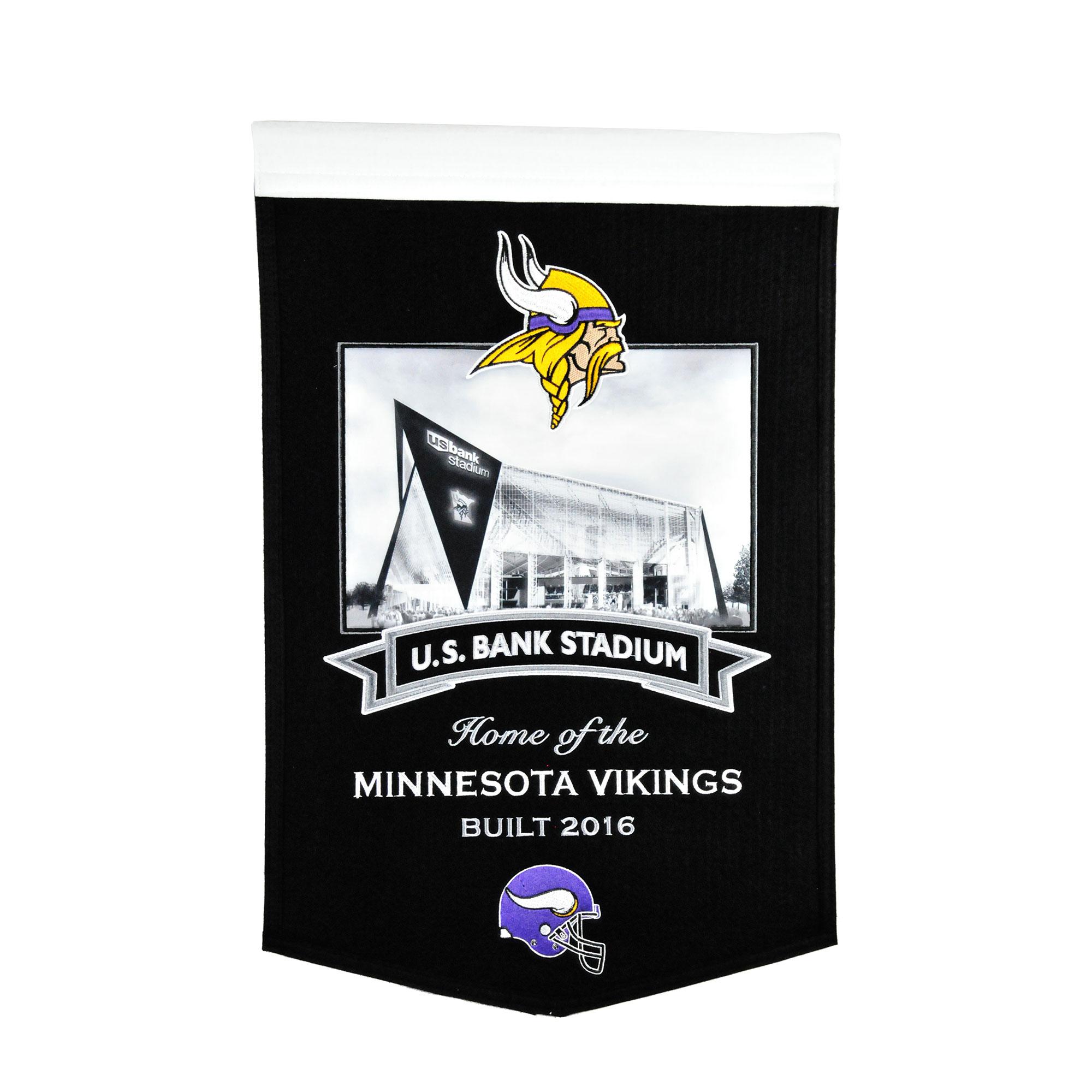"Minnesota Vikings 15"" x 24"" Stadium Banner"