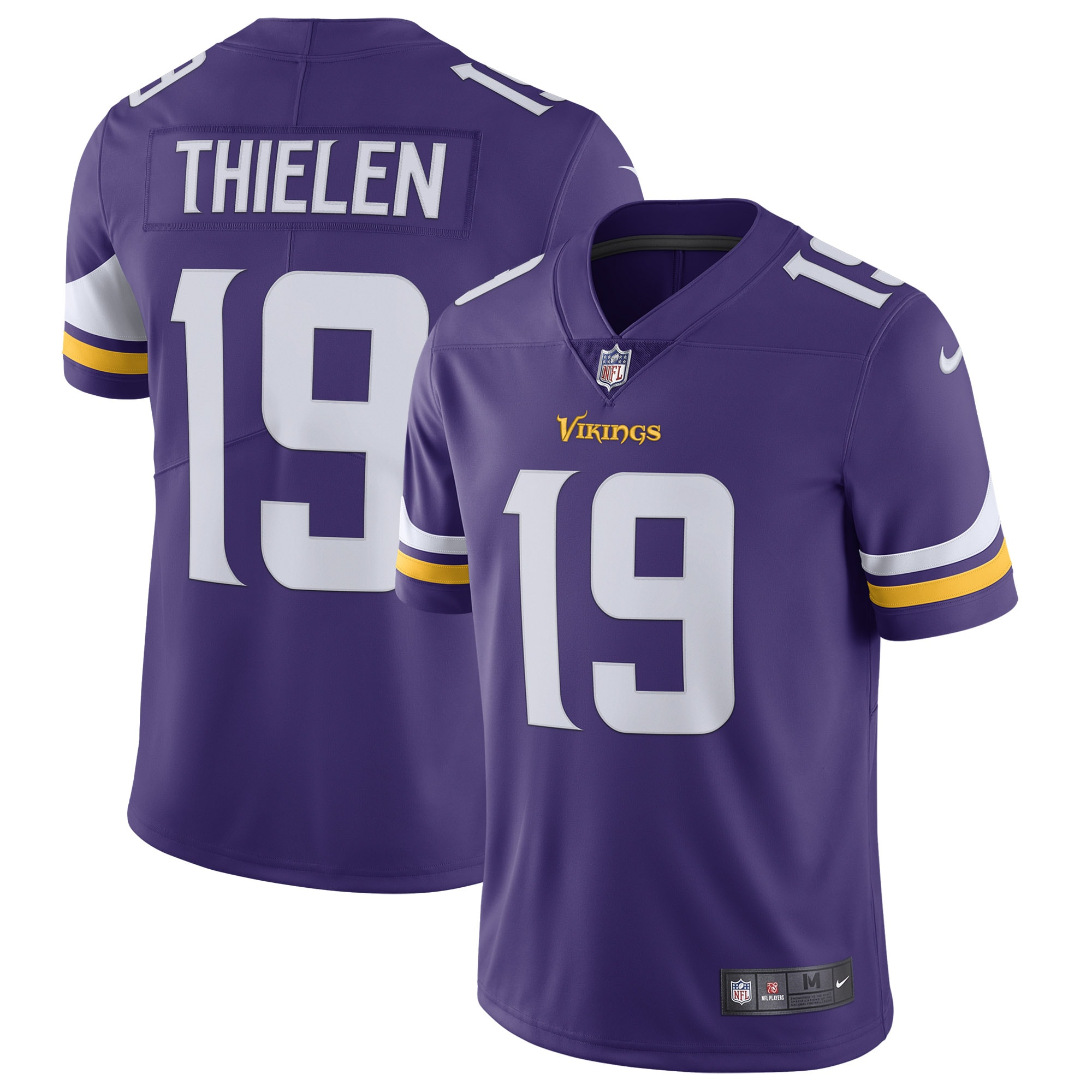 Adam Thielen Minnesota Vikings Nike Vapor Untouchable Limited Jersey - Purple