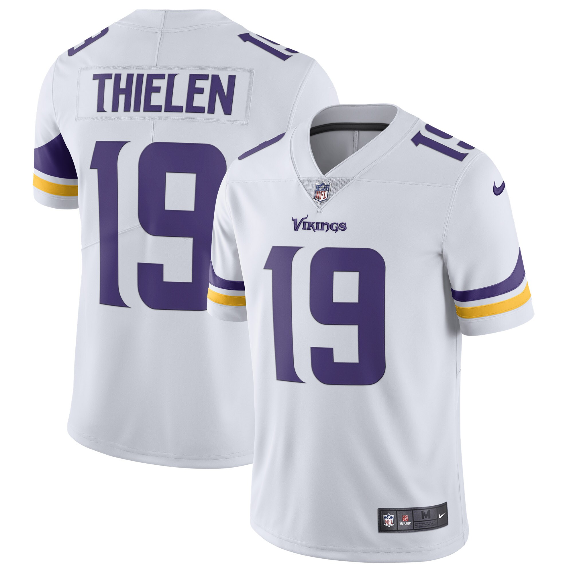 Adam Thielen Minnesota Vikings Nike Vapor Untouchable Limited Jersey - White