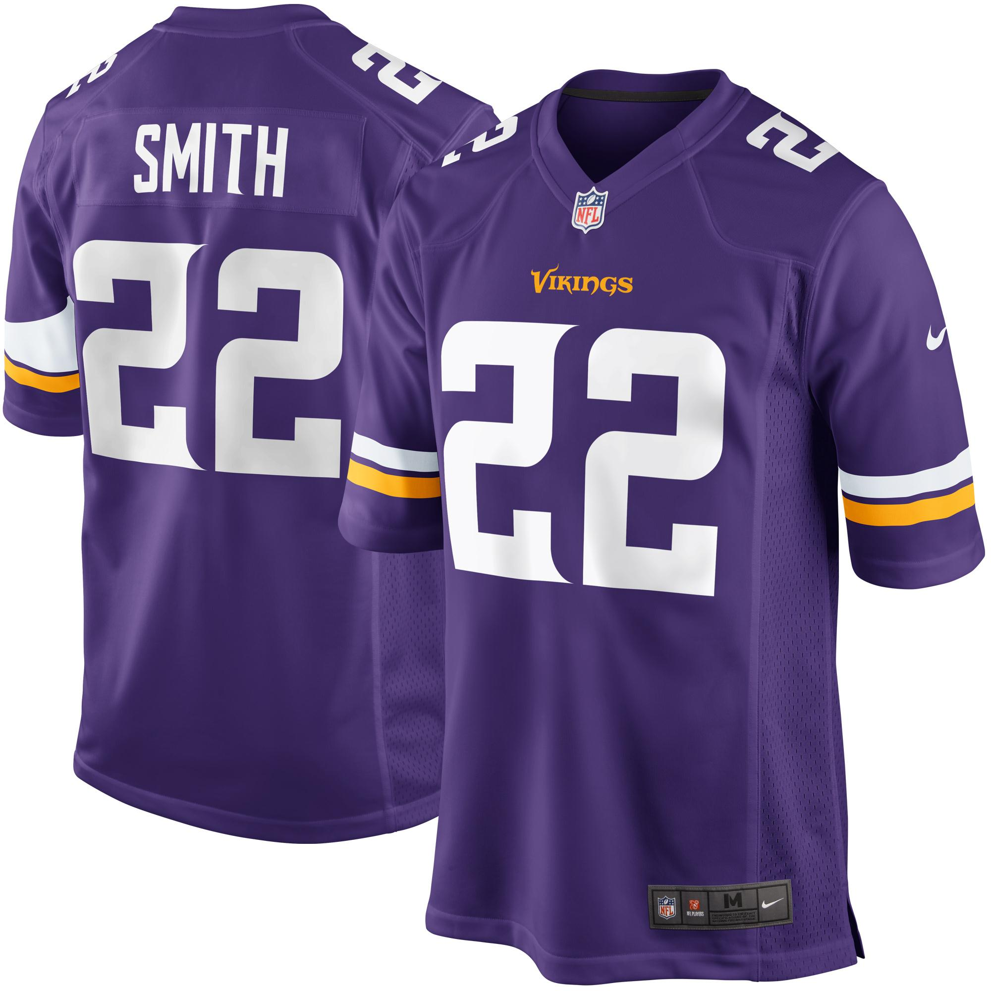 Harrison Smith Minnesota Vikings Nike Youth Team Color Game Jersey - Purple