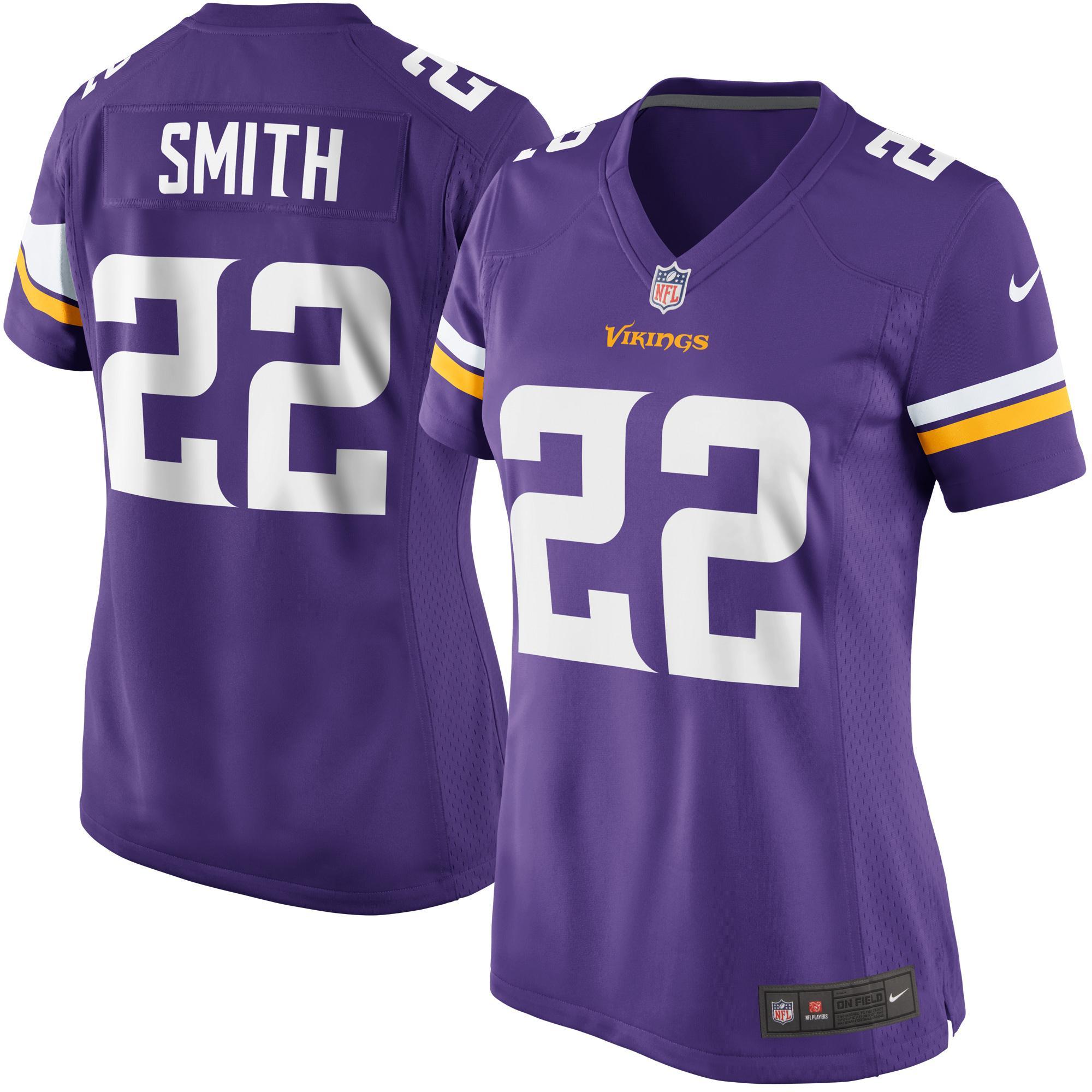 Harrison Smith Minnesota Vikings Nike Women's Game Player Jersey - Purple