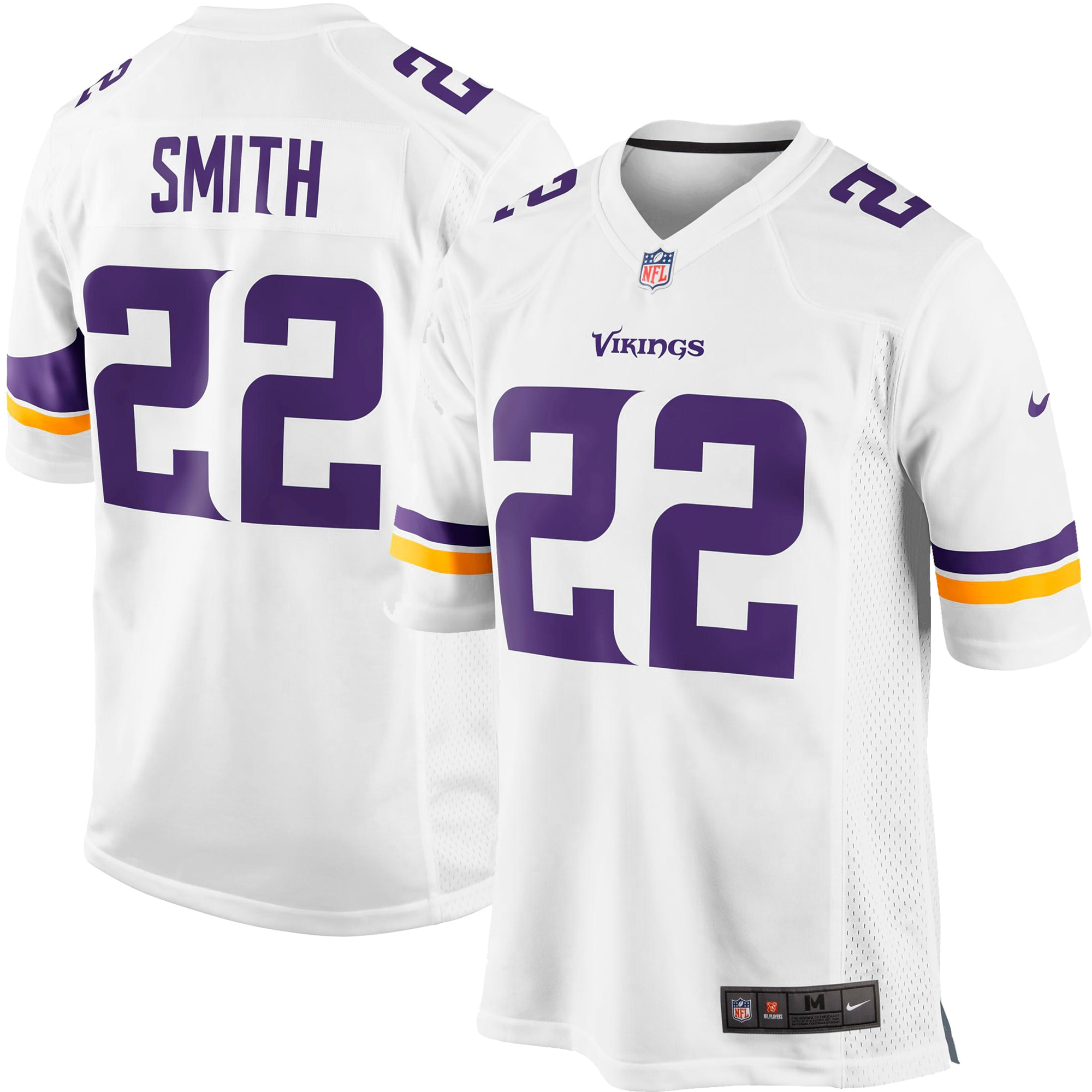 Harrison Smith Minnesota Vikings Nike Youth Game Jersey - White
