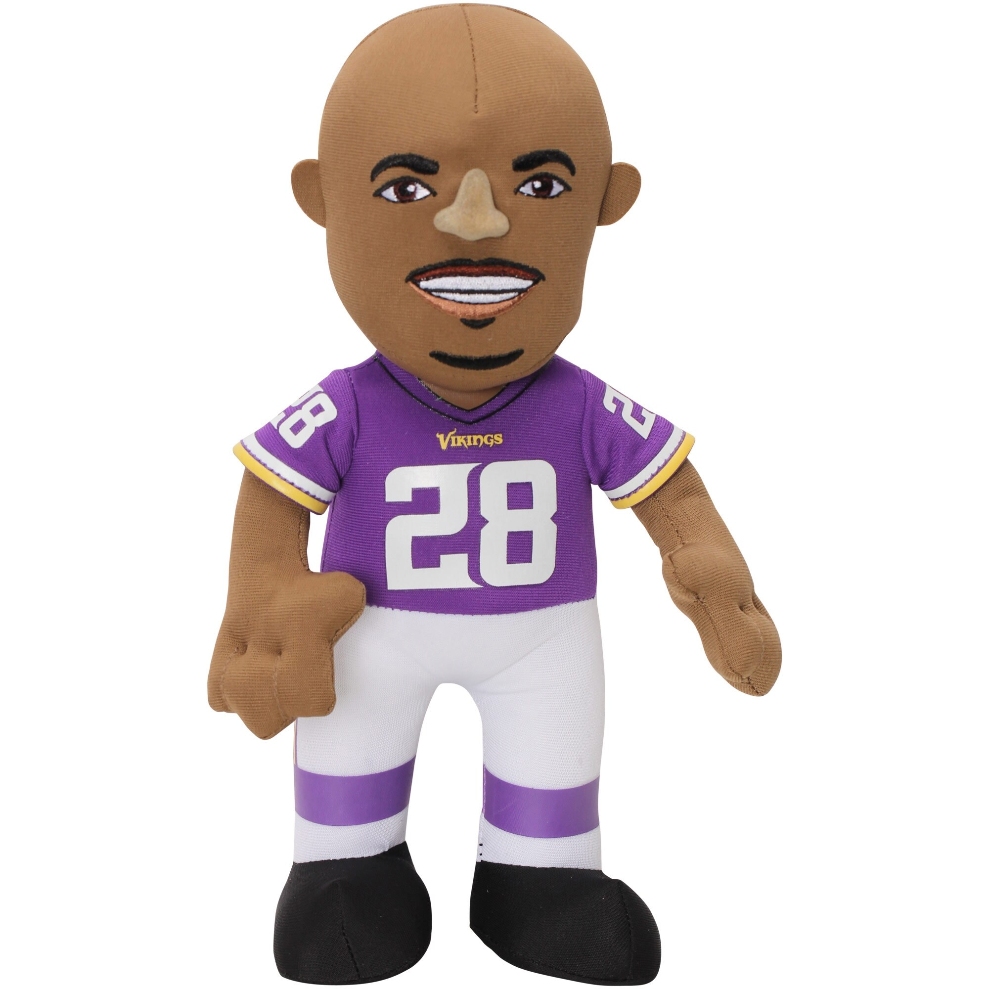 "Adrian Peterson Minnesota Vikings 10"" Player Plush Doll"