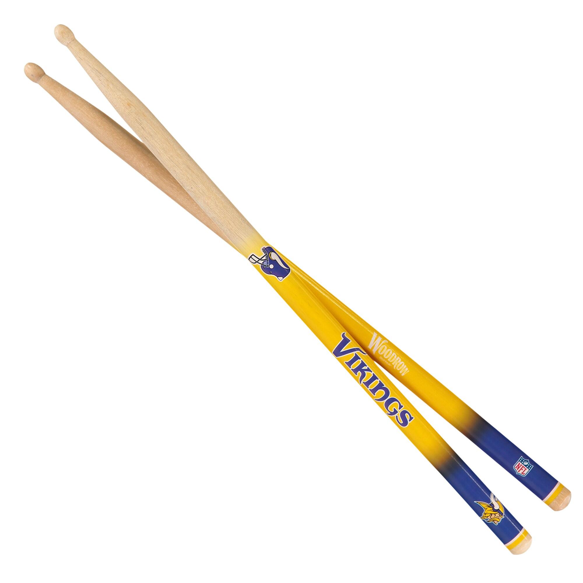 Minnesota Vikings Woodrow Guitar Drum Sticks