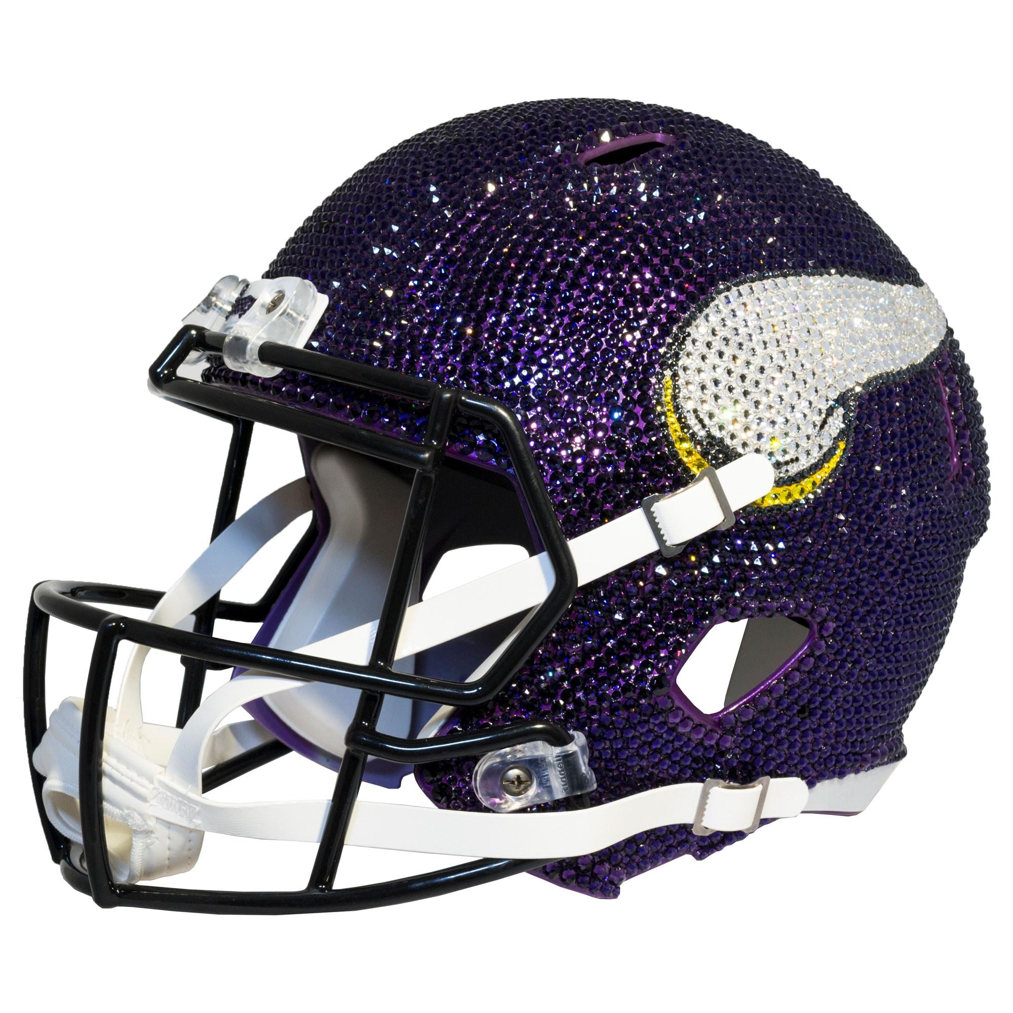 Minnesota Vikings Swarovski Crystal Large Football Helmet