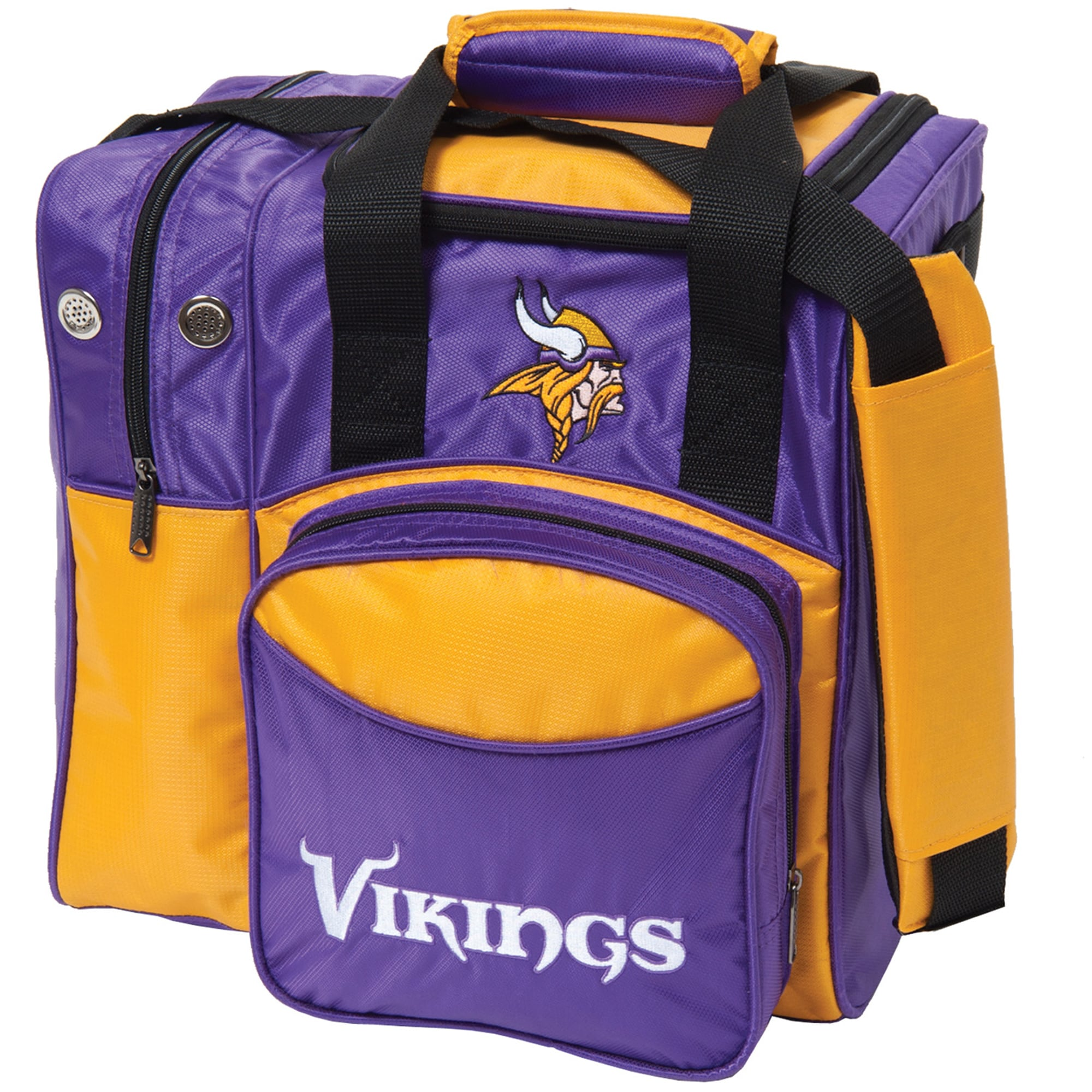 Minnesota Vikings Single Ball Bowling Tote