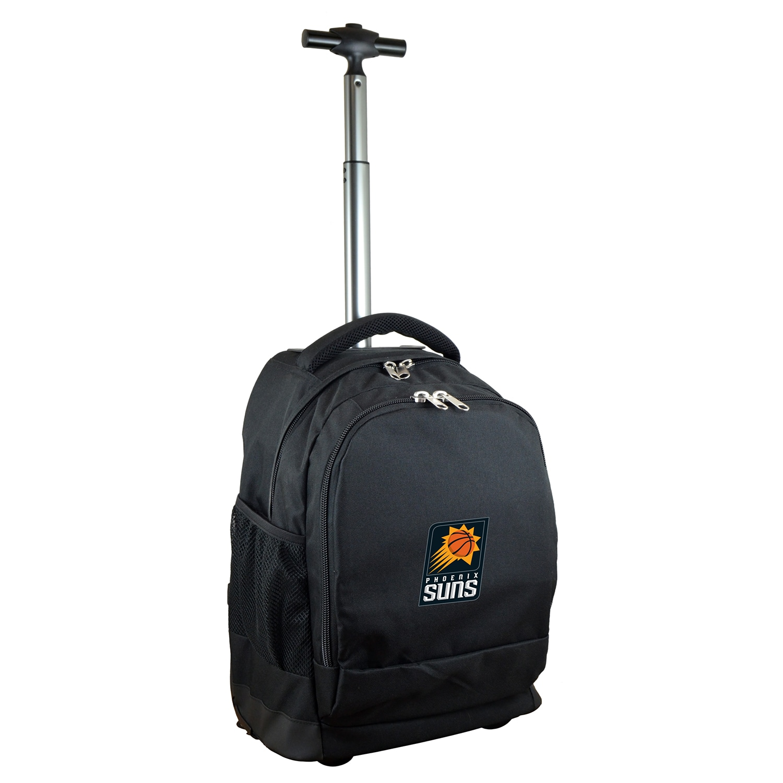 Phoenix Suns 19'' Premium Wheeled Backpack - Black