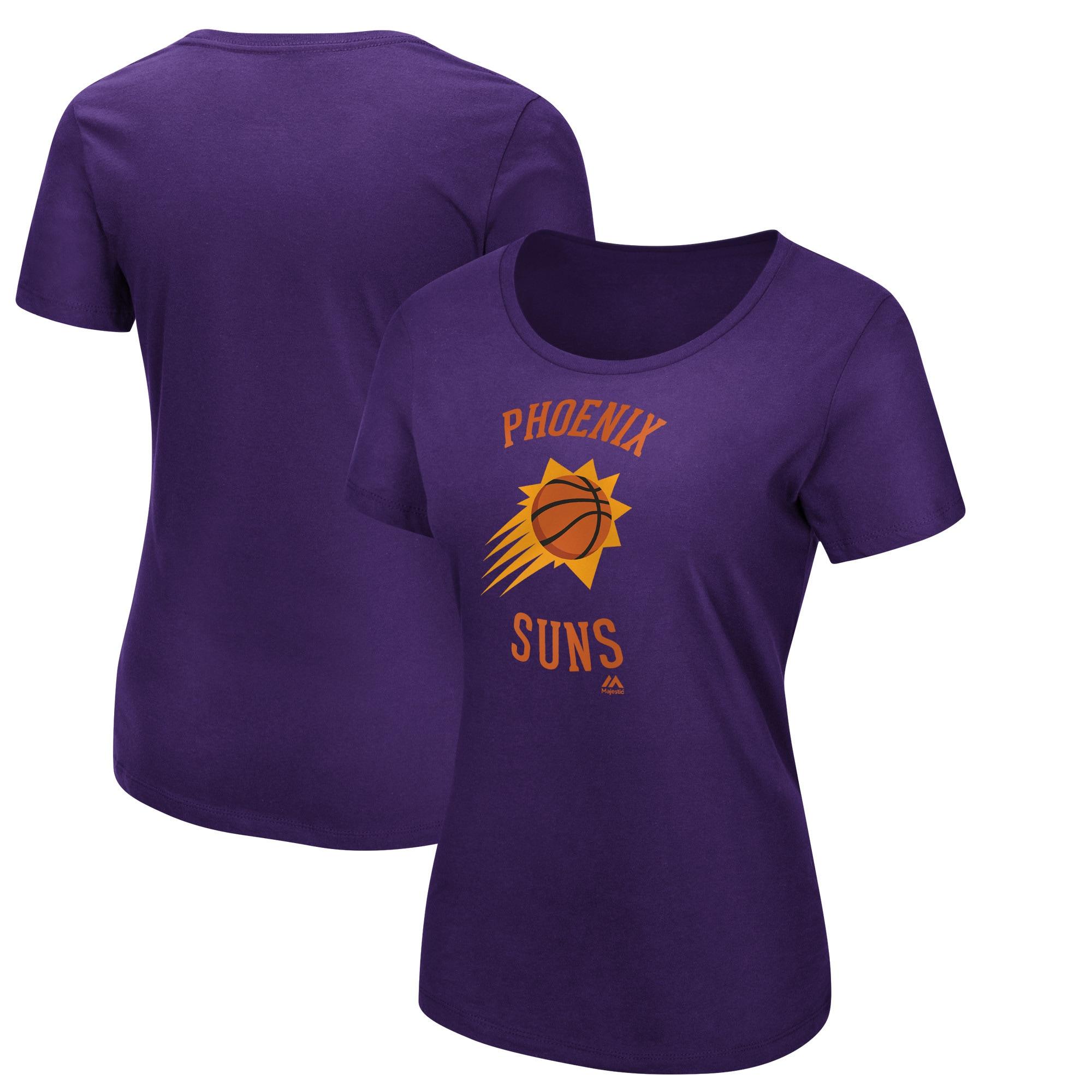 Phoenix Suns Majestic Women's The Main Thing T-Shirt - Purple
