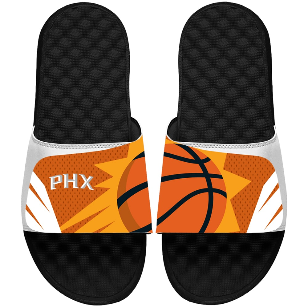 Phoenix Suns ISlide Youth Statement Jersey Slide Sandals - White