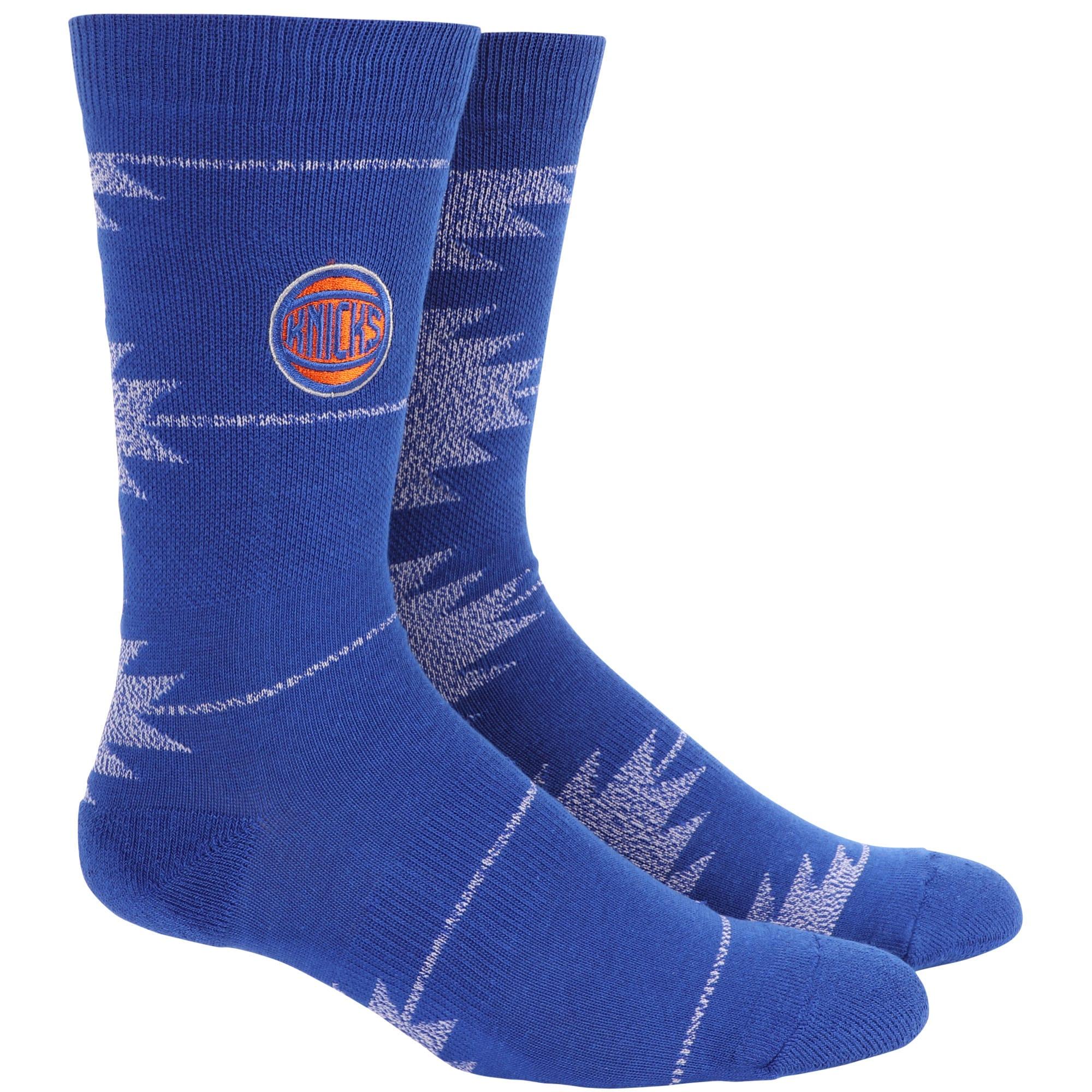 New York Knicks Geo Crew Socks
