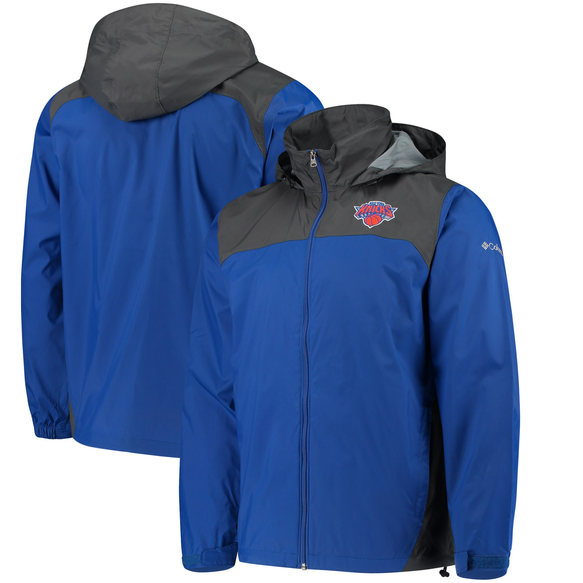 New York Knicks Columbia Glennaker Lake Full-Zip Jacket - Blue