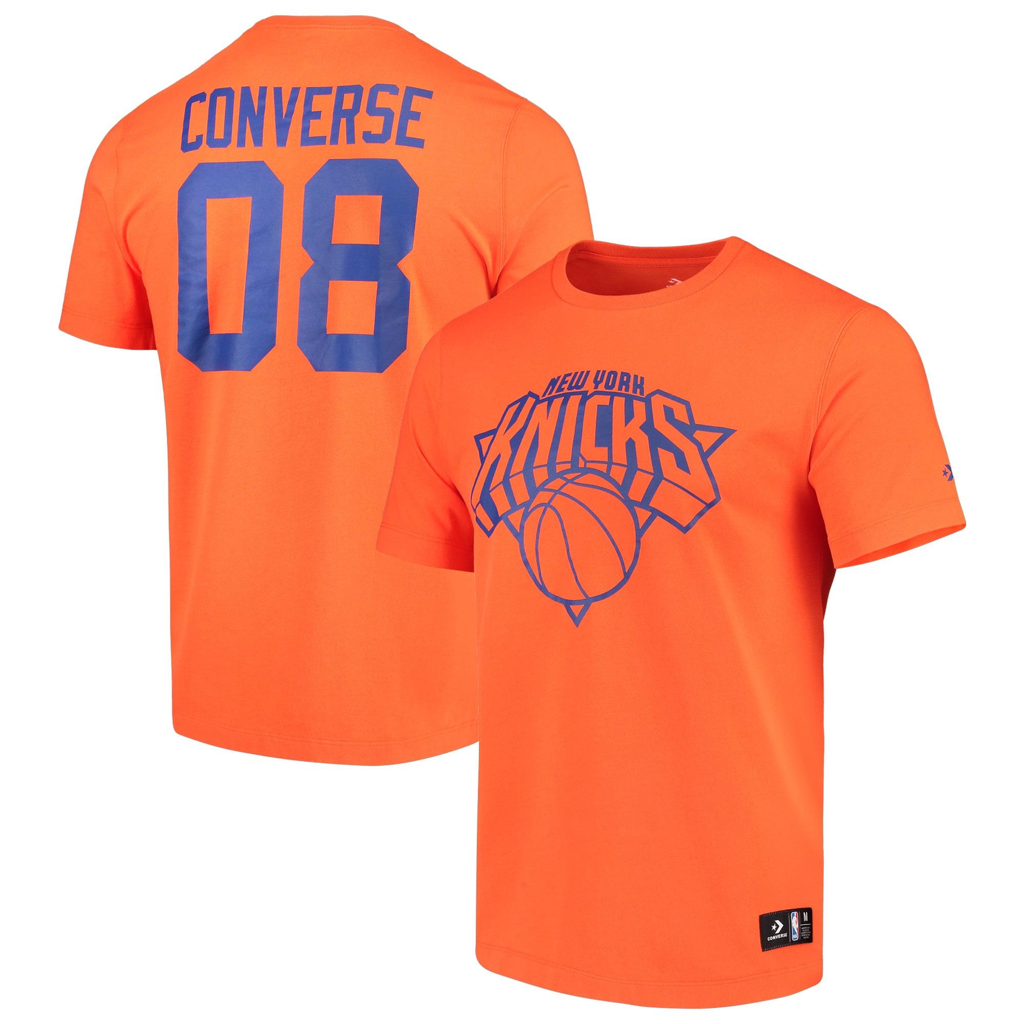 New York Knicks Converse Essentials T-Shirt - Orange