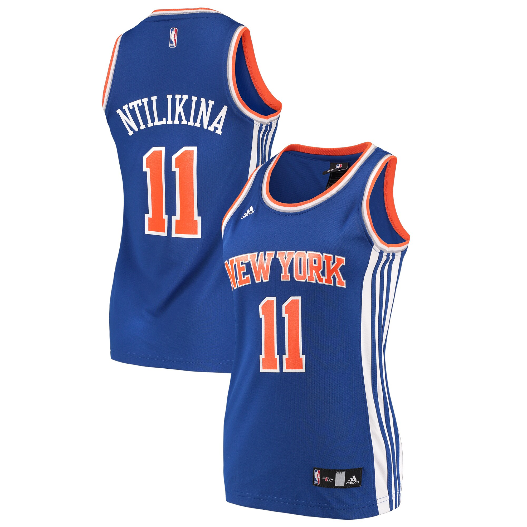 Frank Ntilikina New York Knicks adidas Women's Replica Jersey - Blue