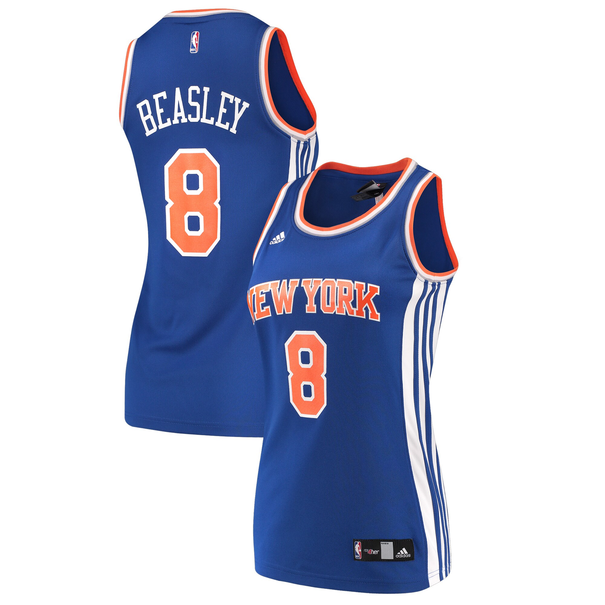 Michael Beasley New York Knicks adidas Women's Replica Jersey - Blue