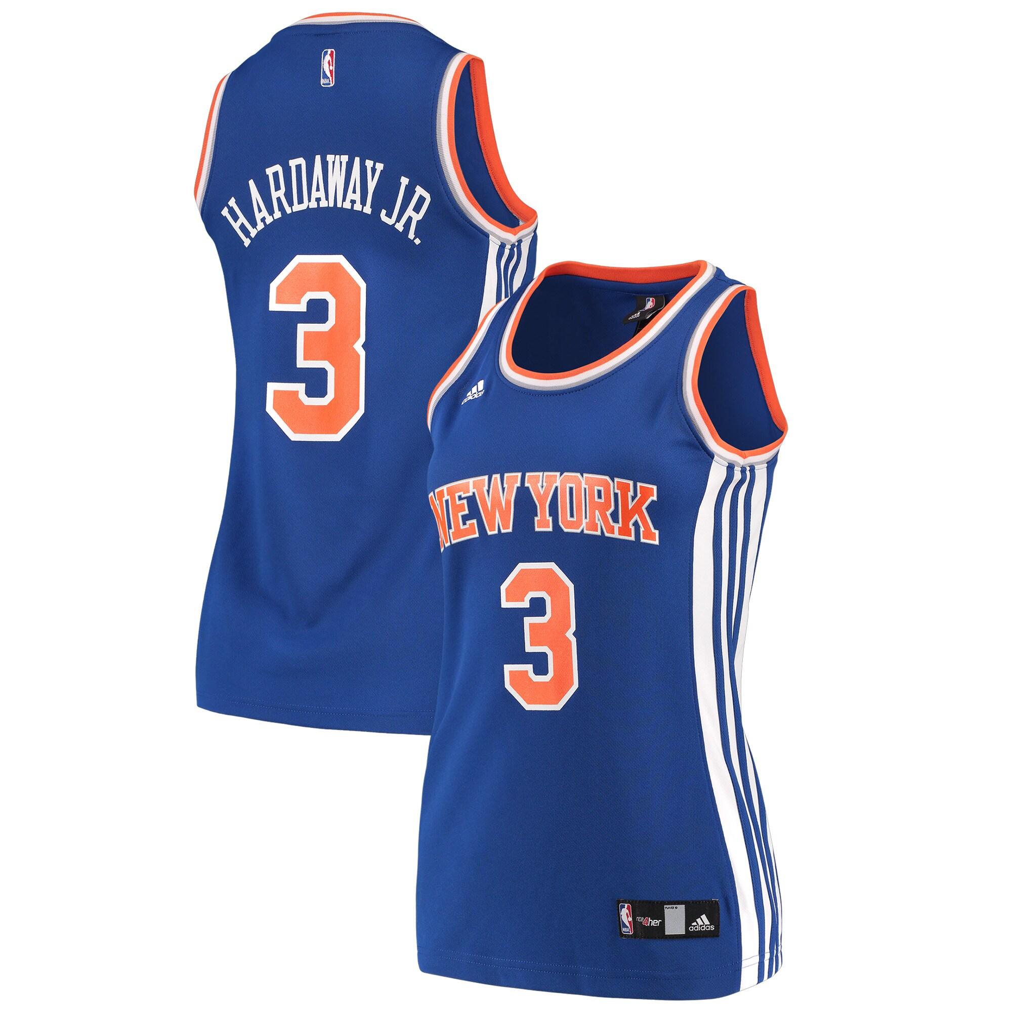 Tim Hardaway New York Knicks adidas Women's Replica Jersey - Blue