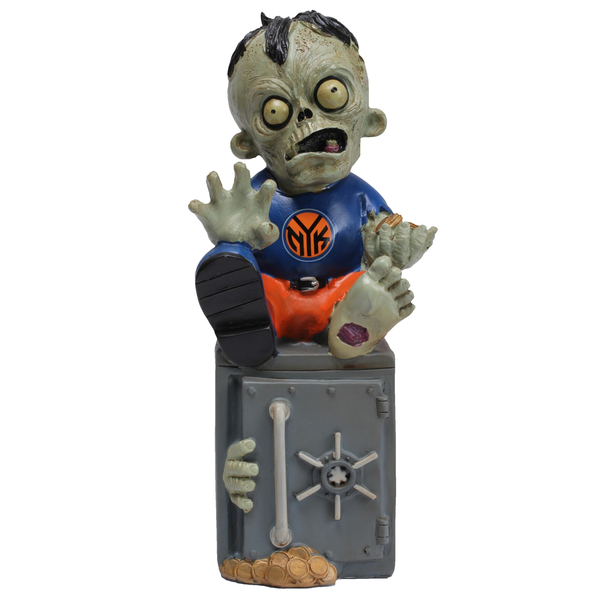 New York Knicks Resin Zombie Bank