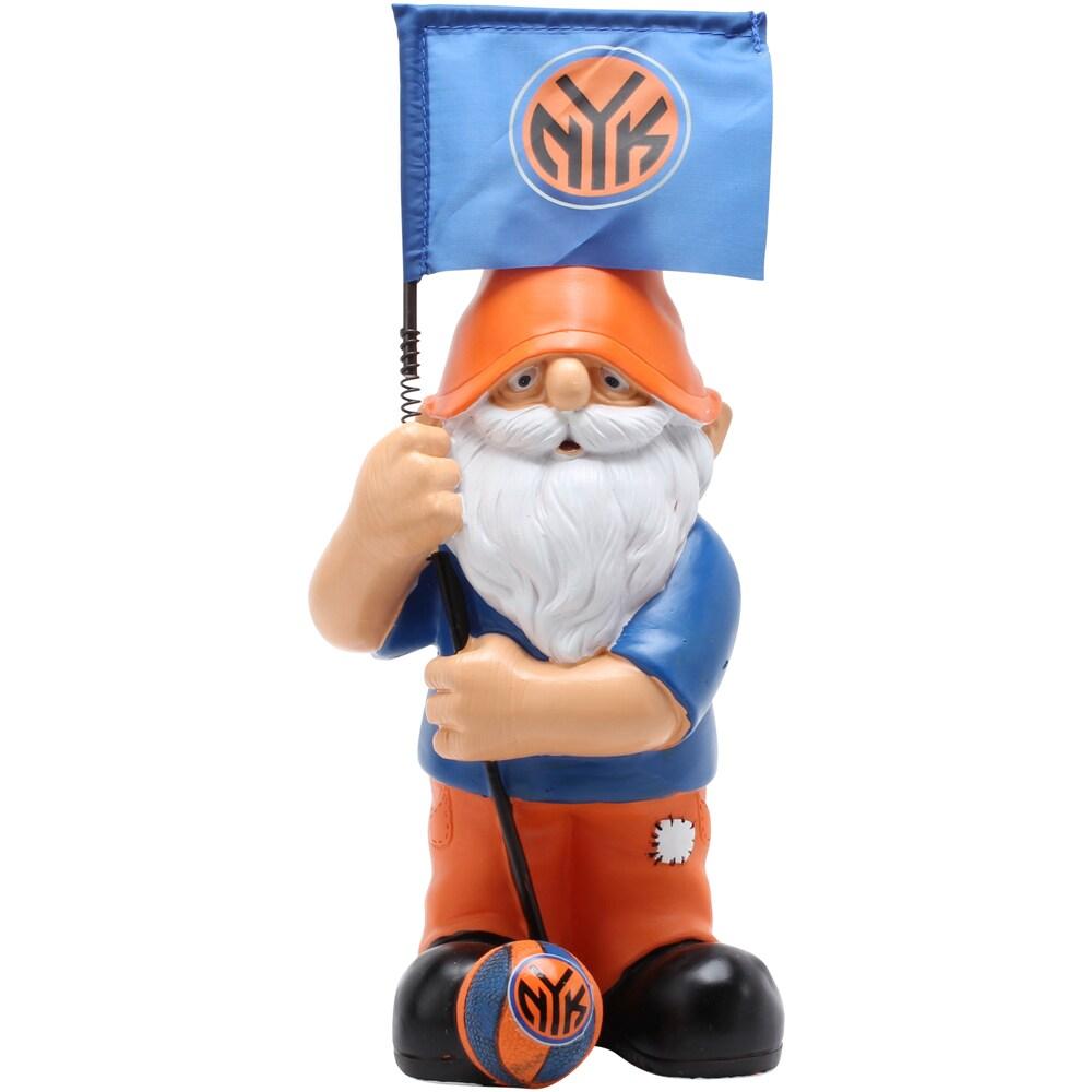 New York Knicks Springy Flag Gnome