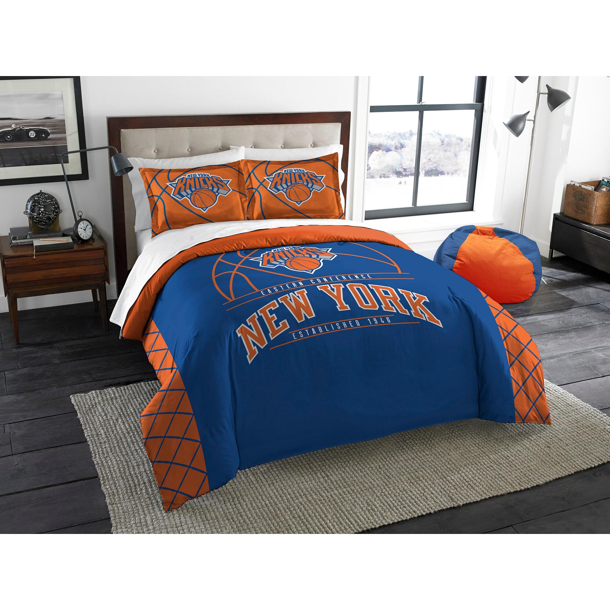 New York Knicks The Northwest Company Reverse Slam Full/Queen Comforter Set
