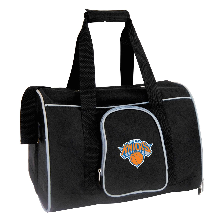 "New York Knicks Small 16"" Pet Carrier - Black"