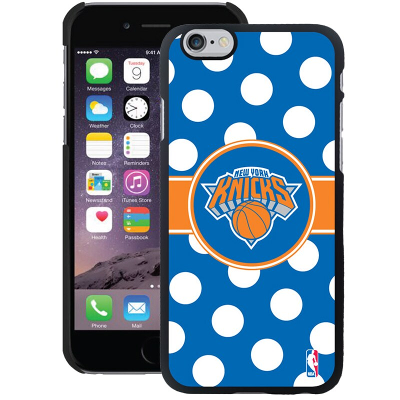 New York Knicks iPhone 6 Plus Polka Dots Case